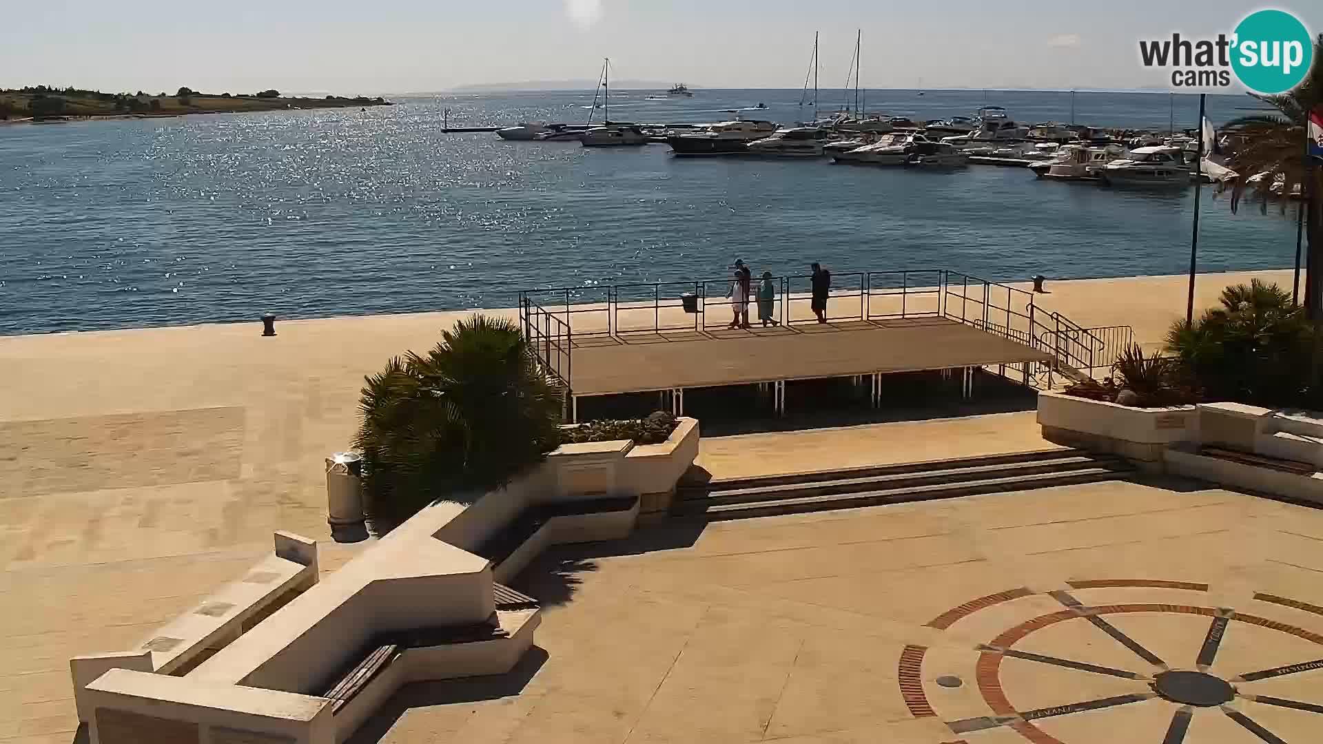 Livecam Promenade a Novalja