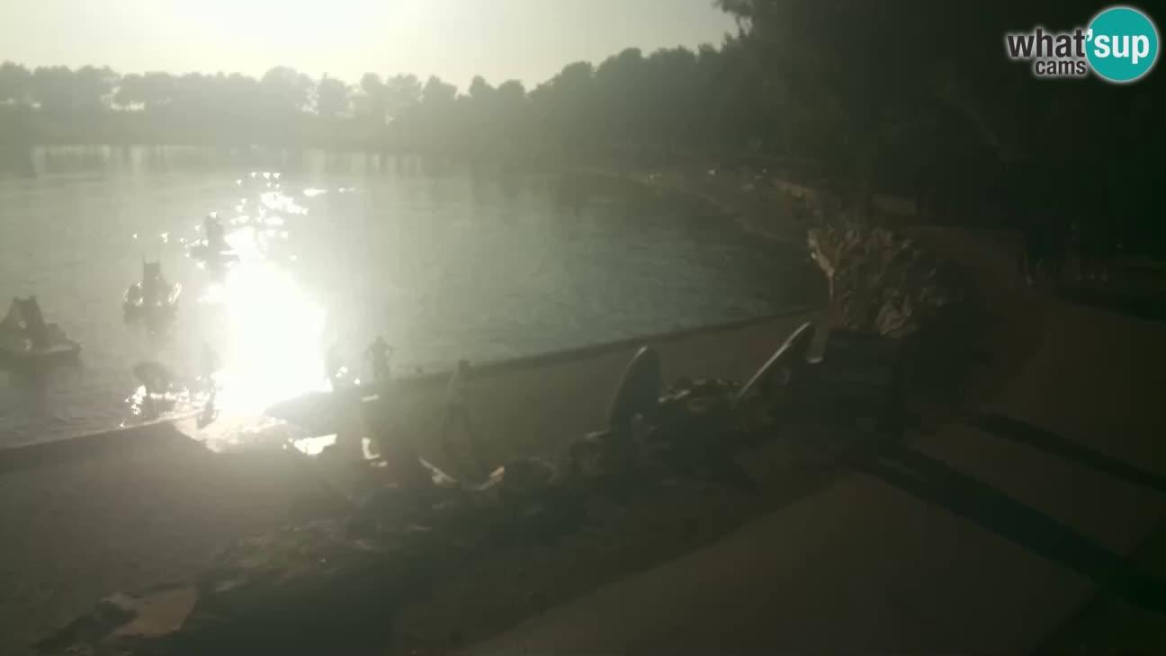 Novigrad live cam – Karpinjan beach