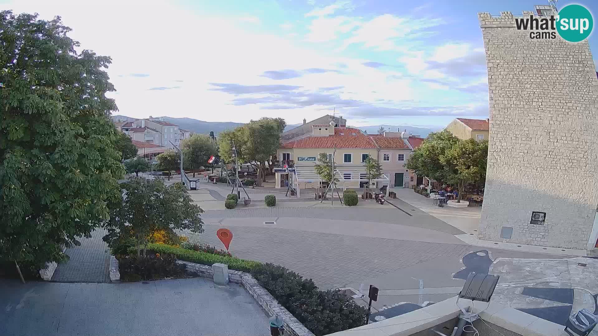 Web kamera – Novi Vinodolski – Kurs Hrvatskih branitelja