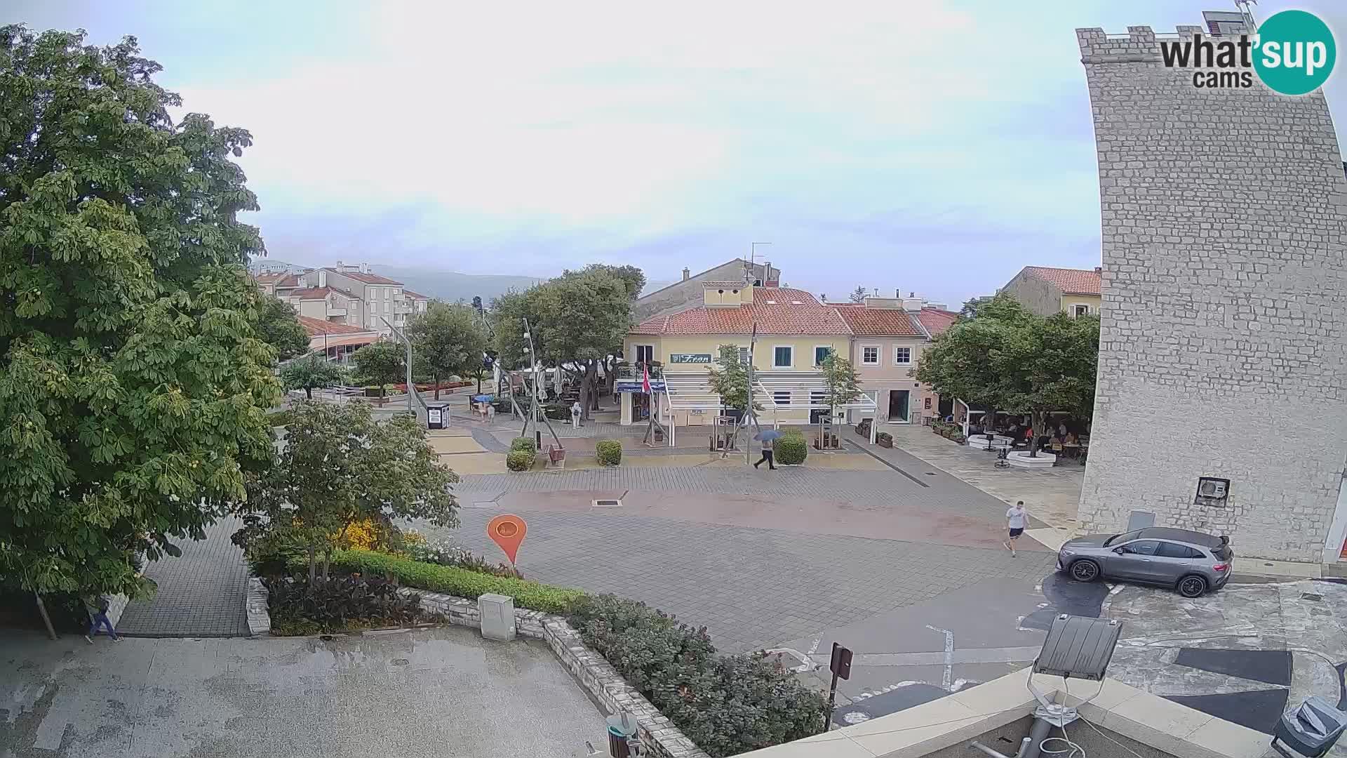 Webcam – Novi Vinodolski – Hauptstraße Hrvatskih Branitelja