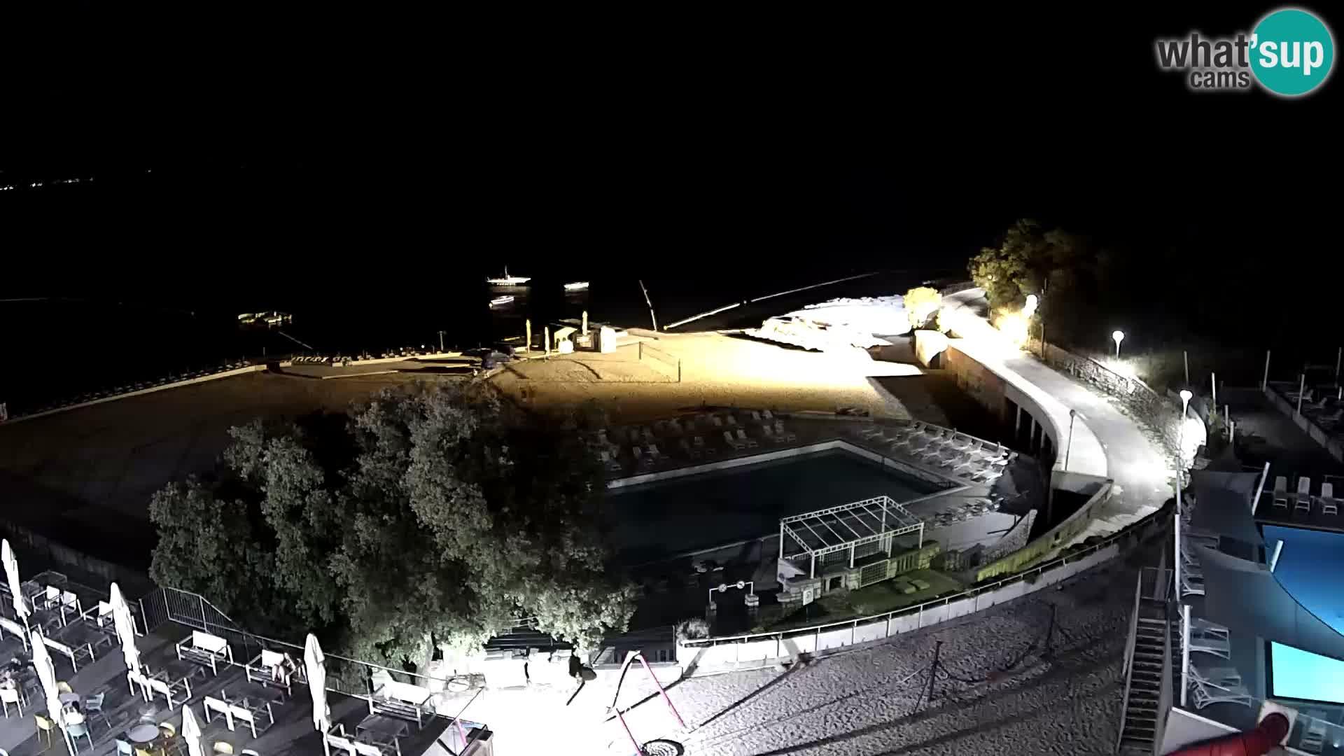 Webcam – Novi Vinodolski – plage