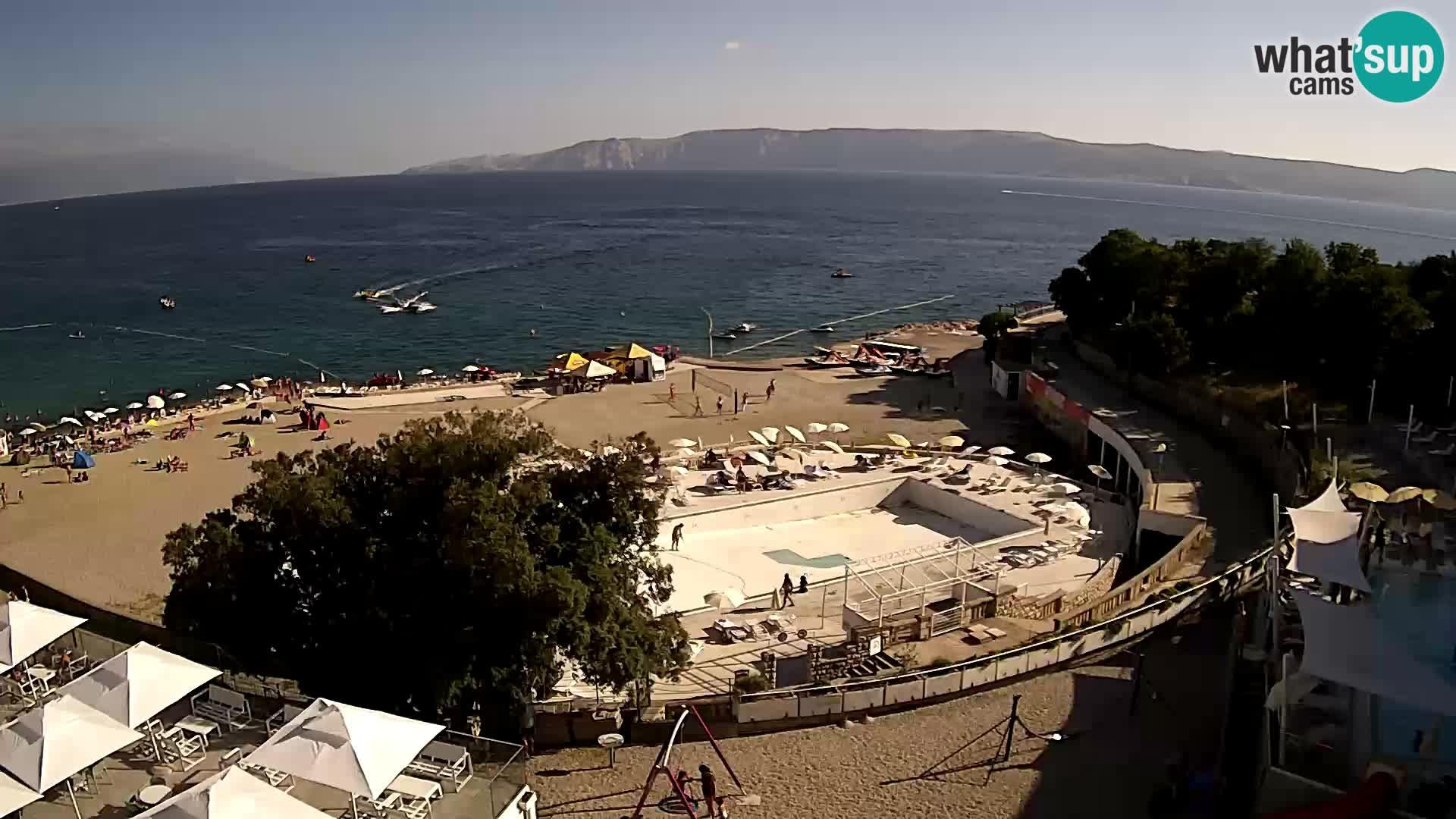 Webcam – Novi Vinodolski – strand