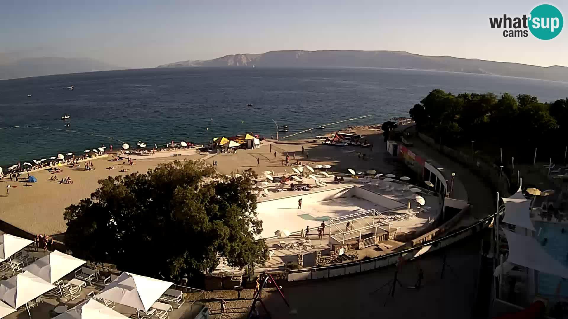 Web kamera – Novi Vinodolski – plaža