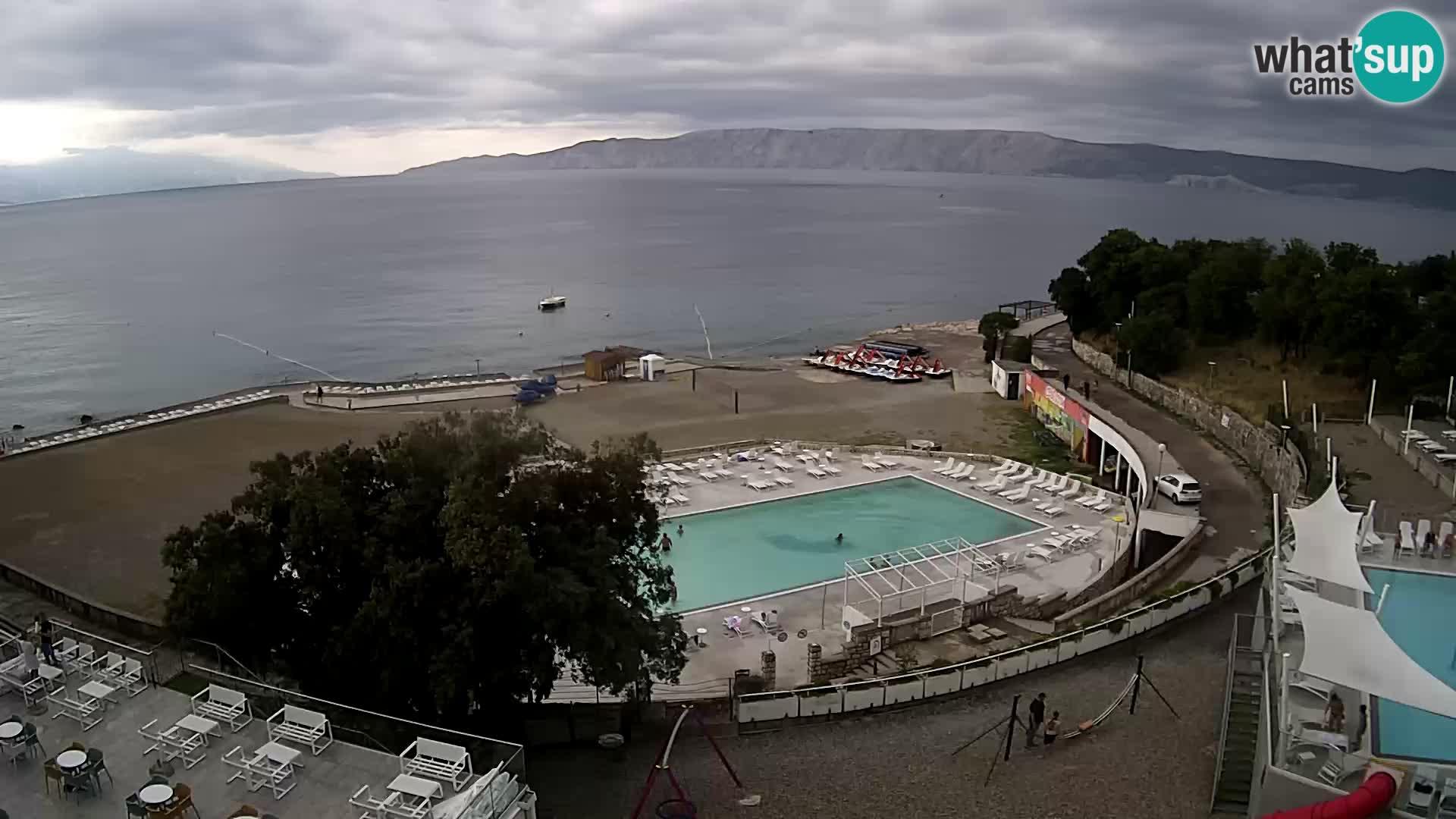 Splenta kamera – Novi Vinodolski – plaža