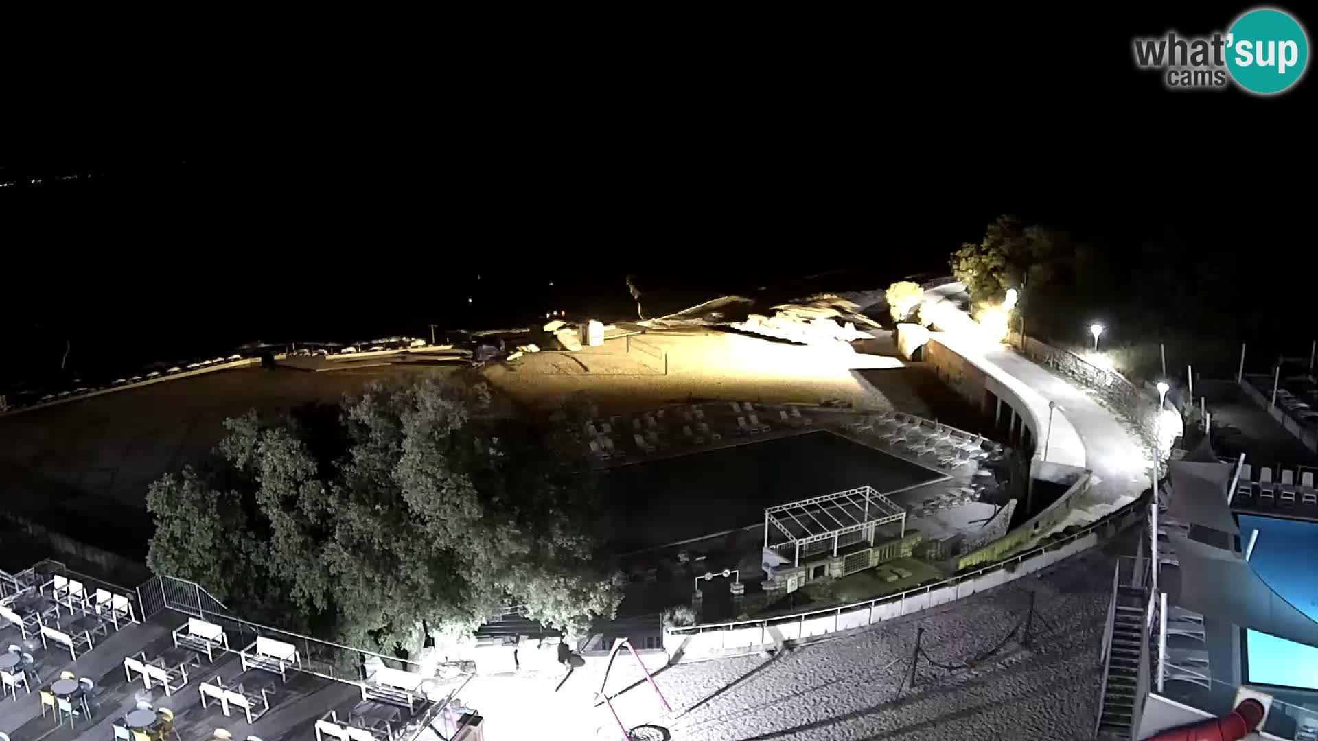 Webcam – Novi Vinodolski – playa