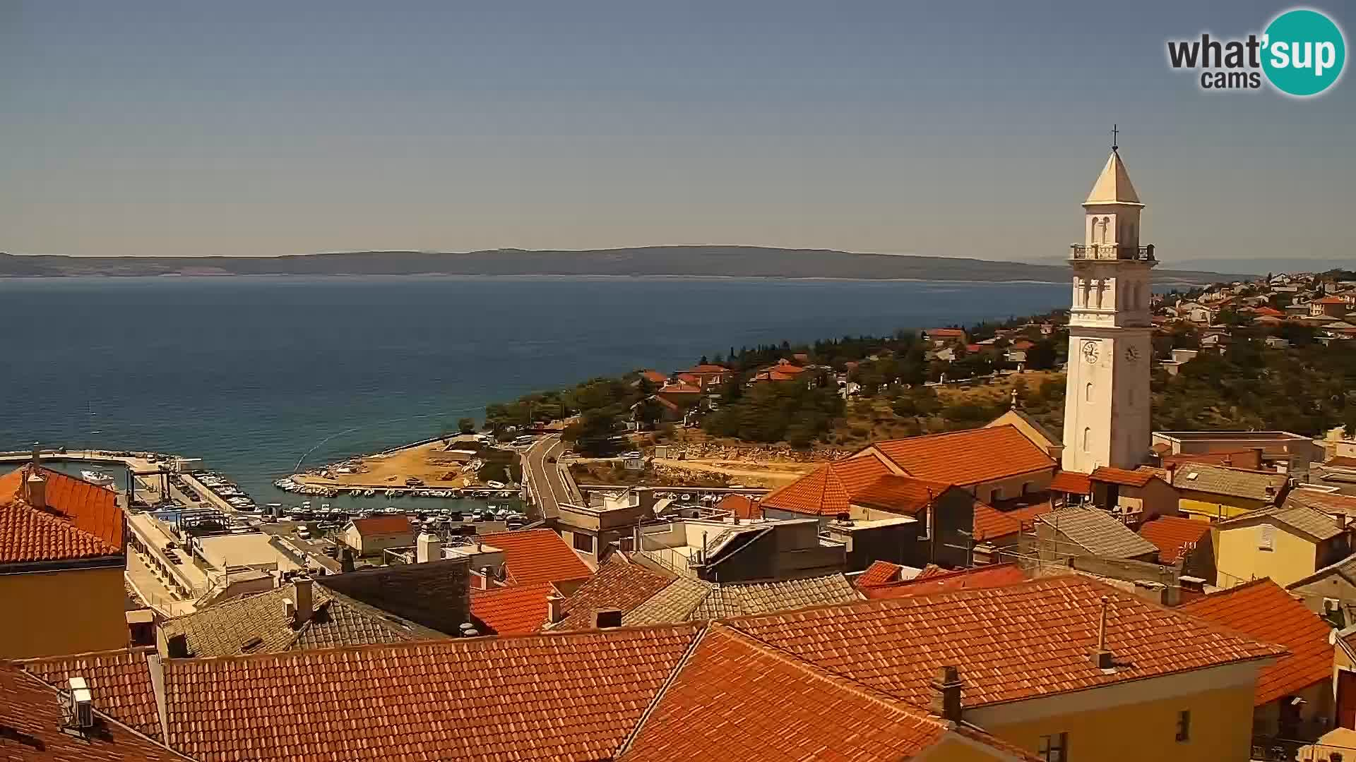 Webcam panoramica Novi Vinodolski – Dalmazia livecam