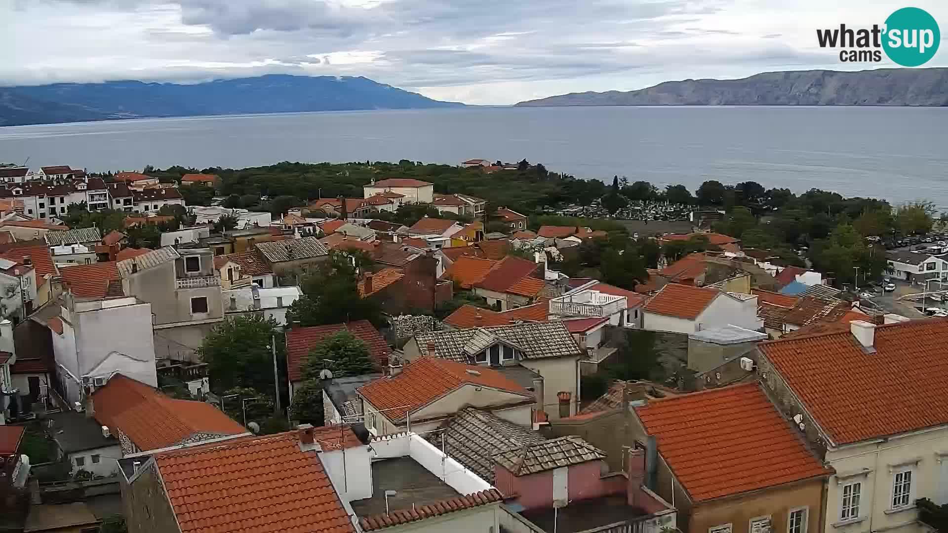 Novi Vinodolski panorama – Dalmacija web kamera