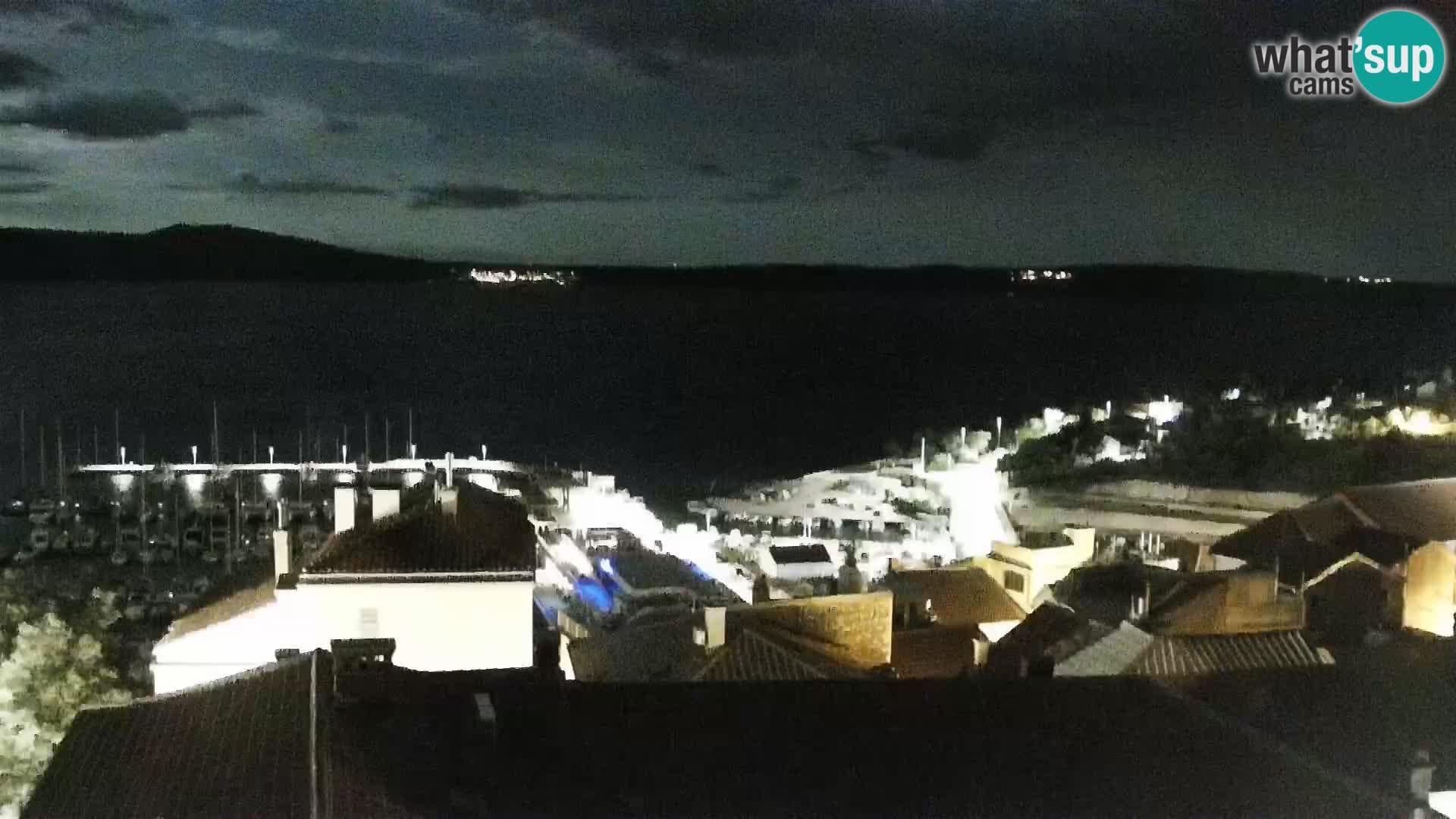 Novi Vinodolski camera en vivo Dalmatia