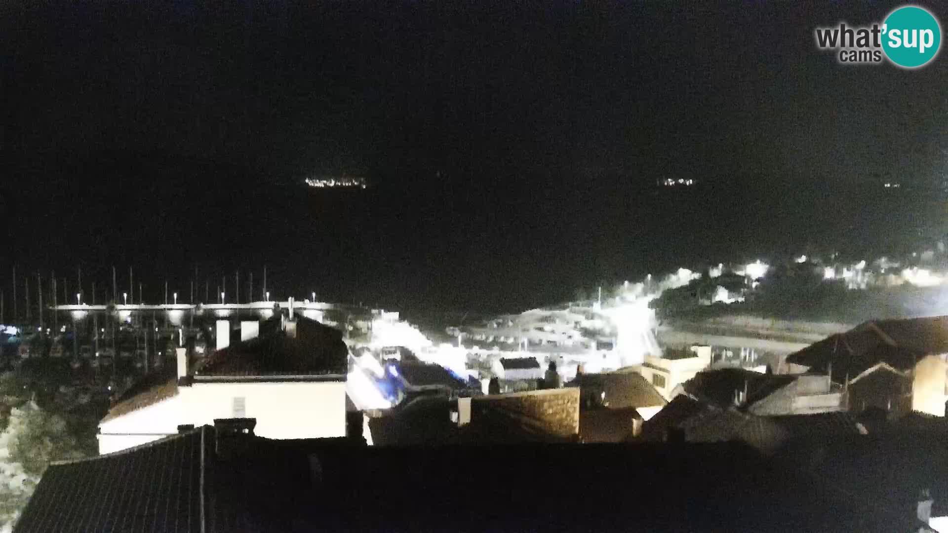 Panoramic webcam Novi Vinodolski – Dalmatia live