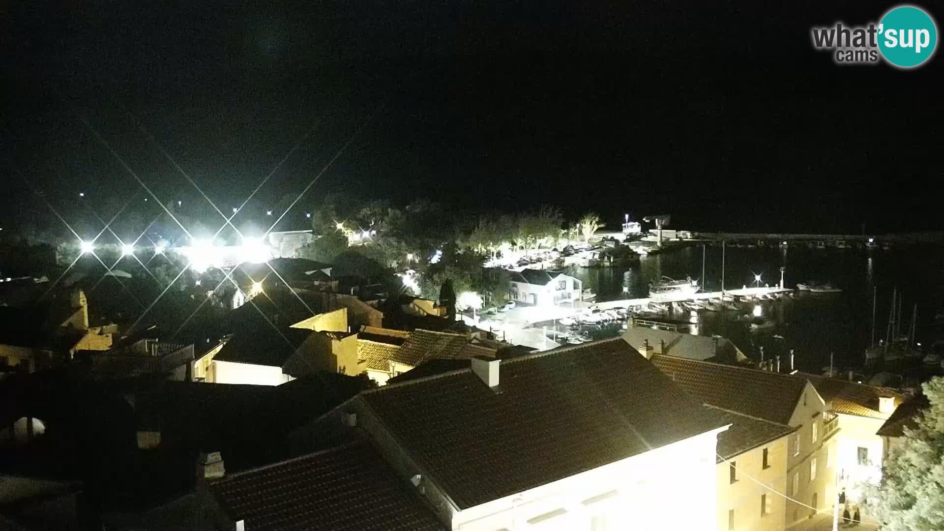 Panoramic Novi Vinodolski livecam Dalmatien