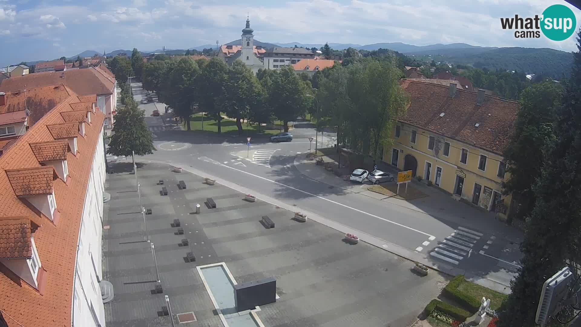 Webcam Ogulin center