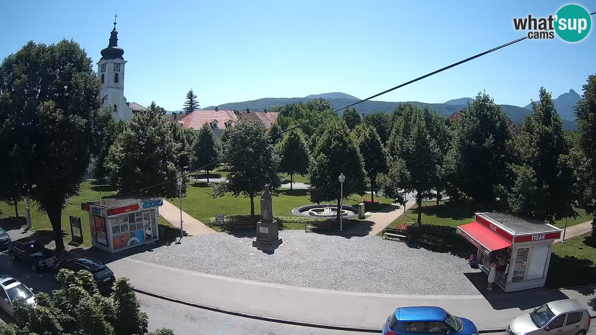 Live webcam Ogulin