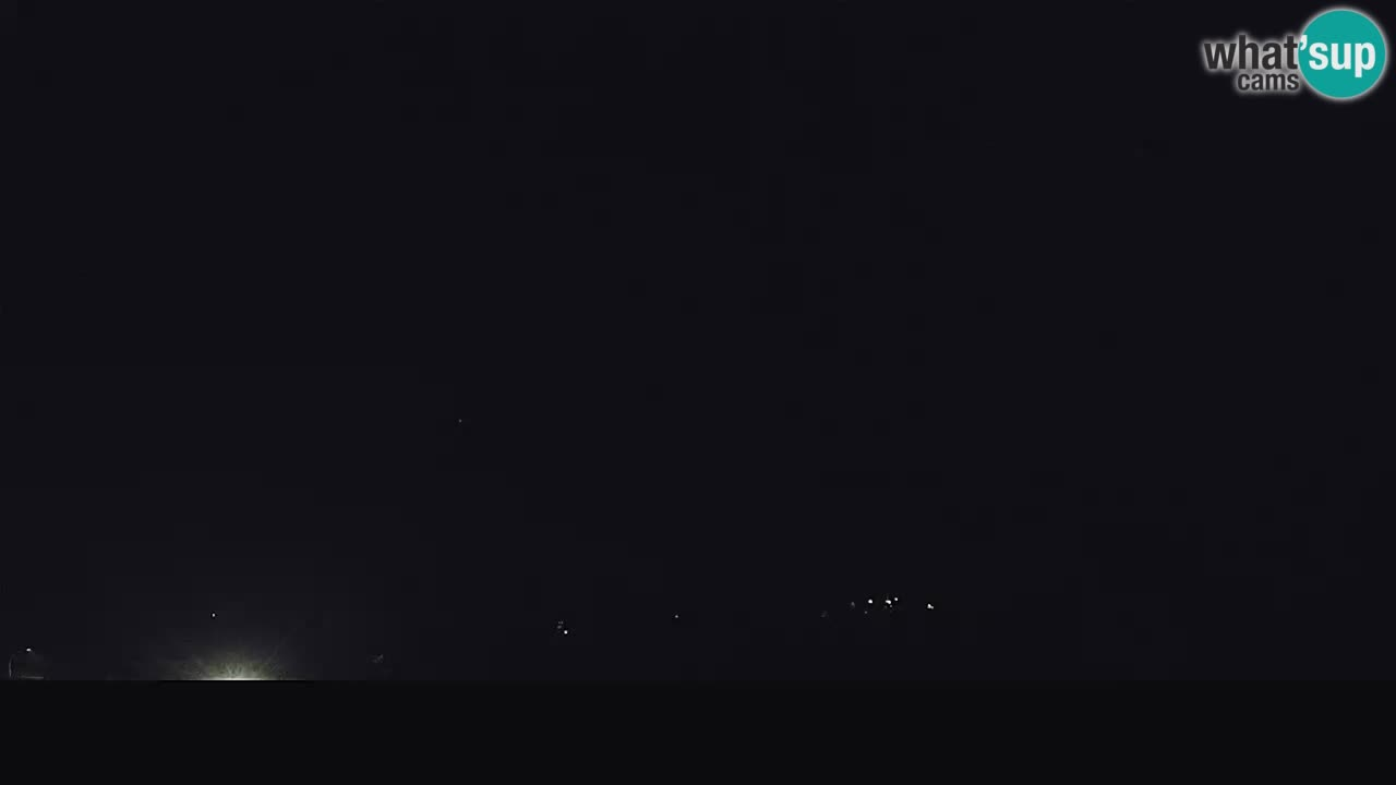 Il panorama su Ogulin livecam