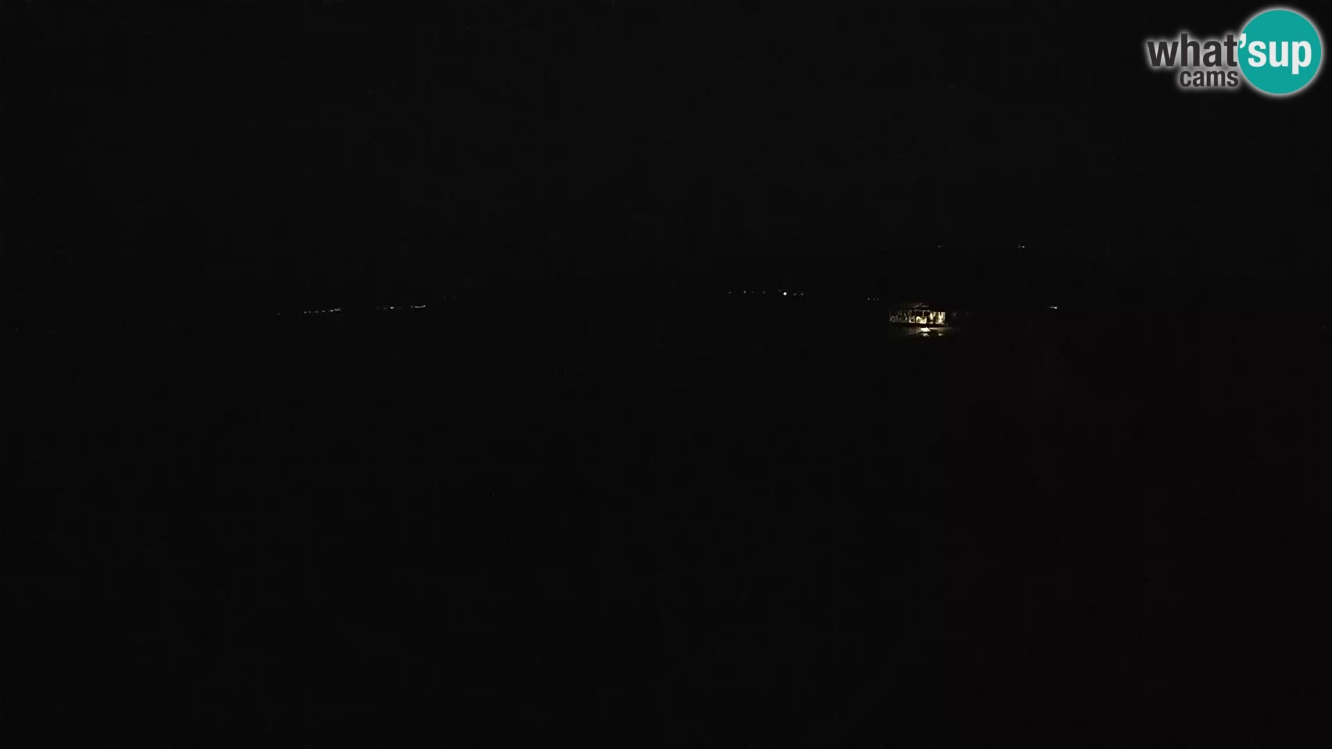 LIVE webcam Komin Kiteboarding Neretva web kamera