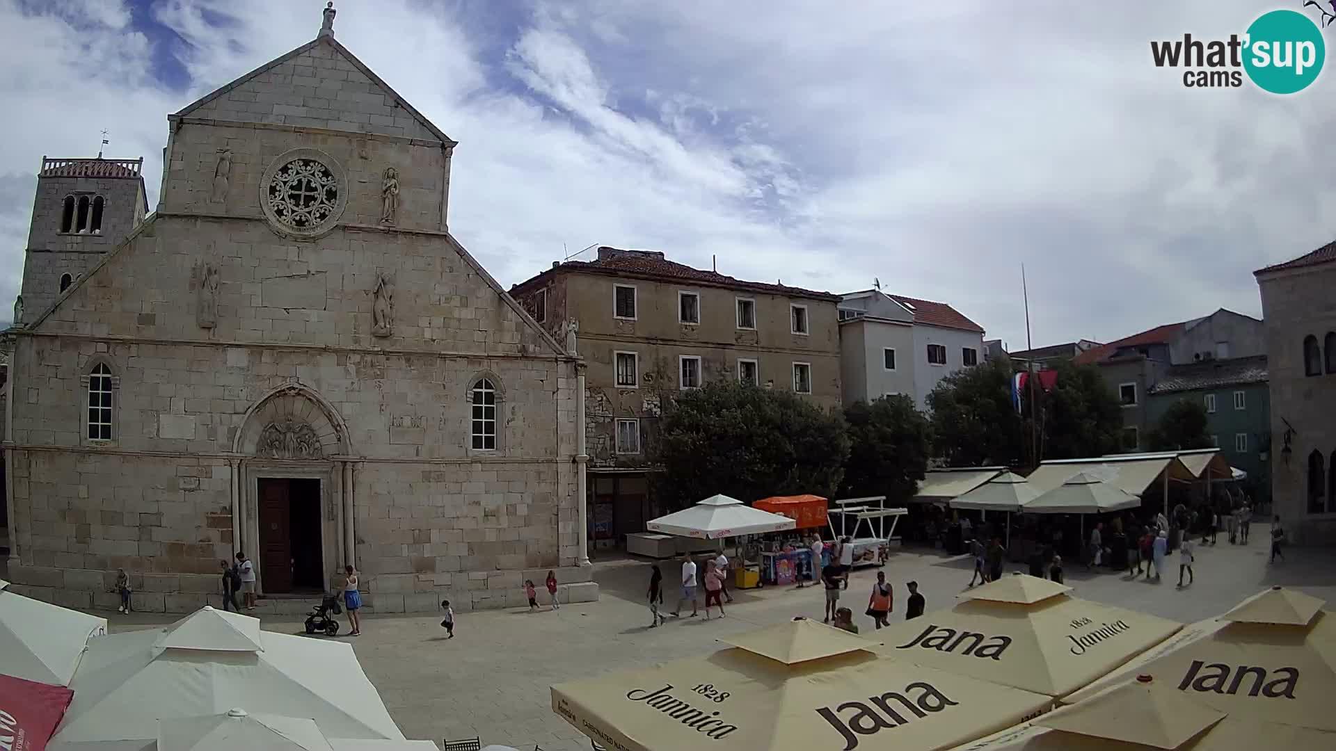 Webcam Pag – Hauptplatz und Kirche St. Maria