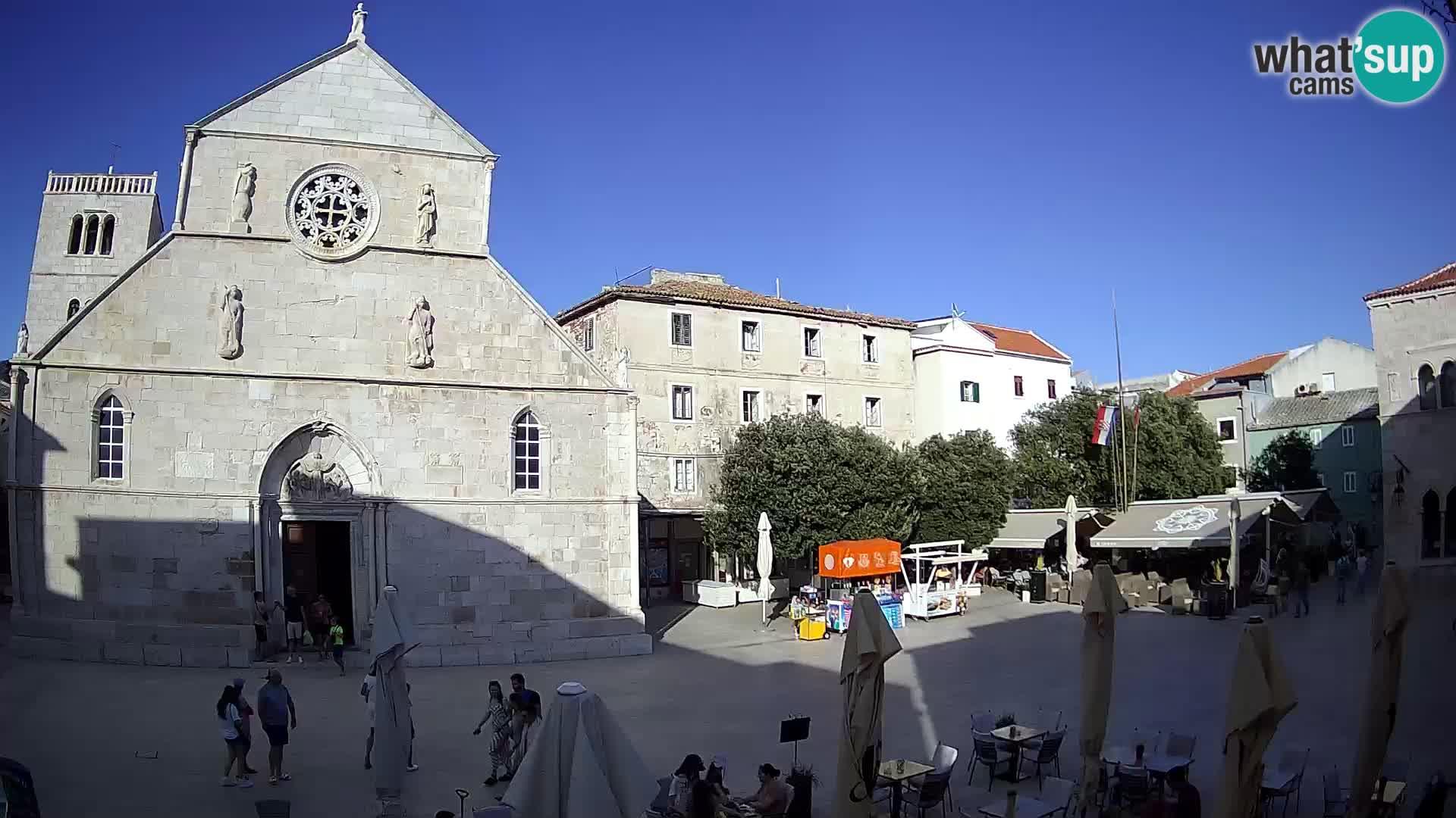 Spletna kamera Pag – Glavni trg in cerkev sv Marije