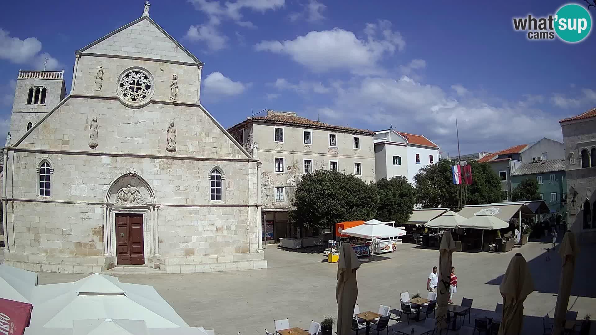 Pag live cam – Place principale et église de Sainte-Marie