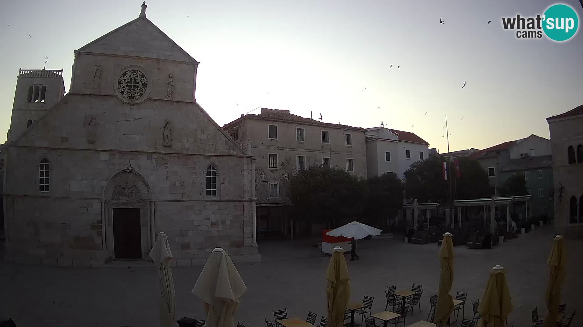 Pag – main square and Church of St. Mary