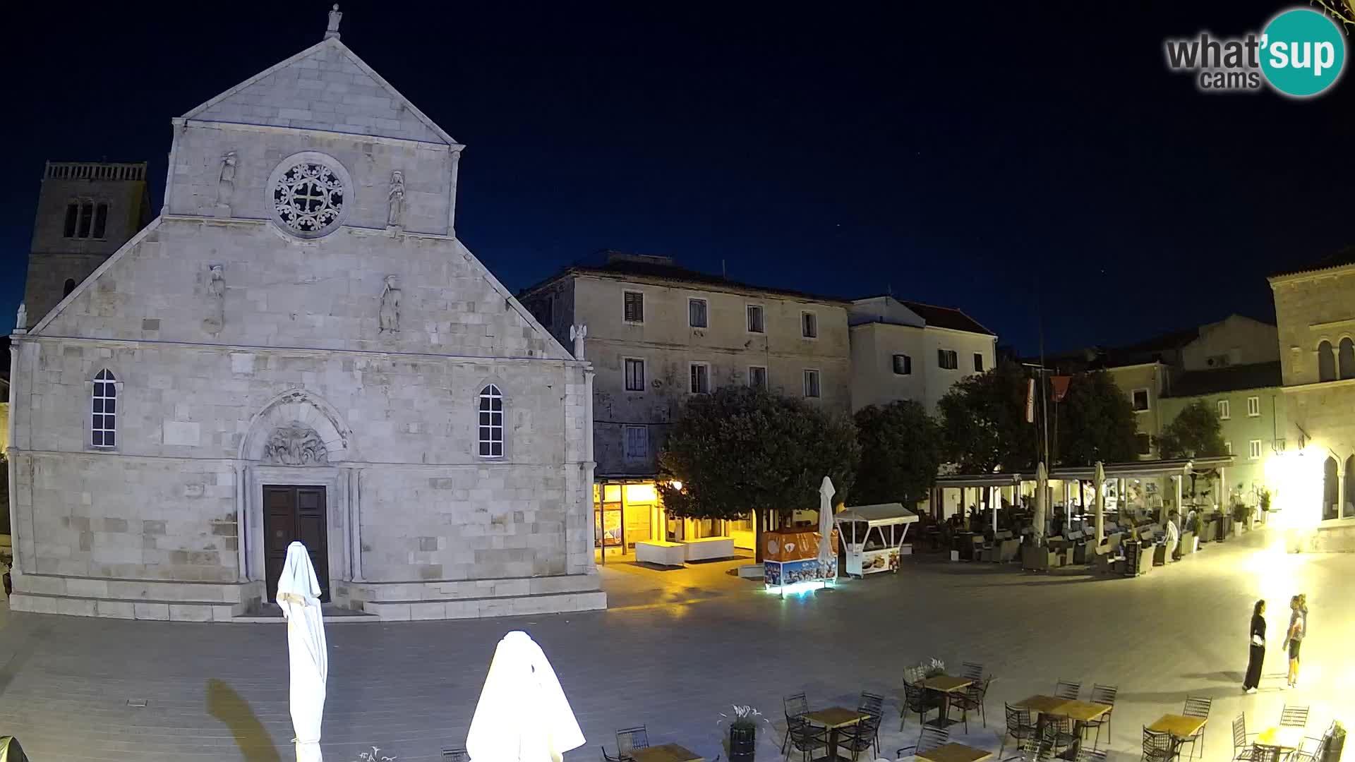 Web kamera Pag – Glavni trg i crkva sv. Marije