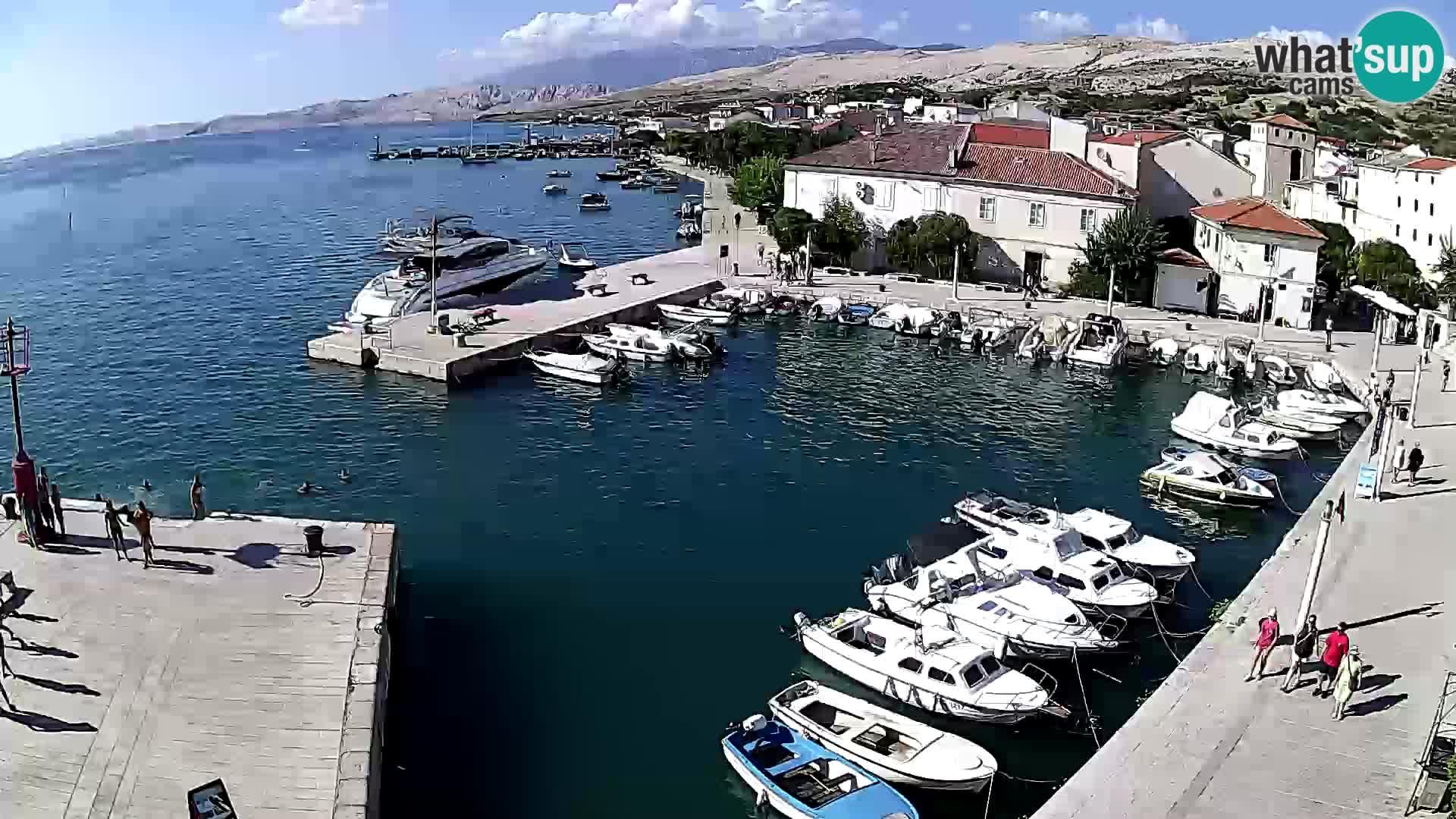 Pag webcam – Stadthafen