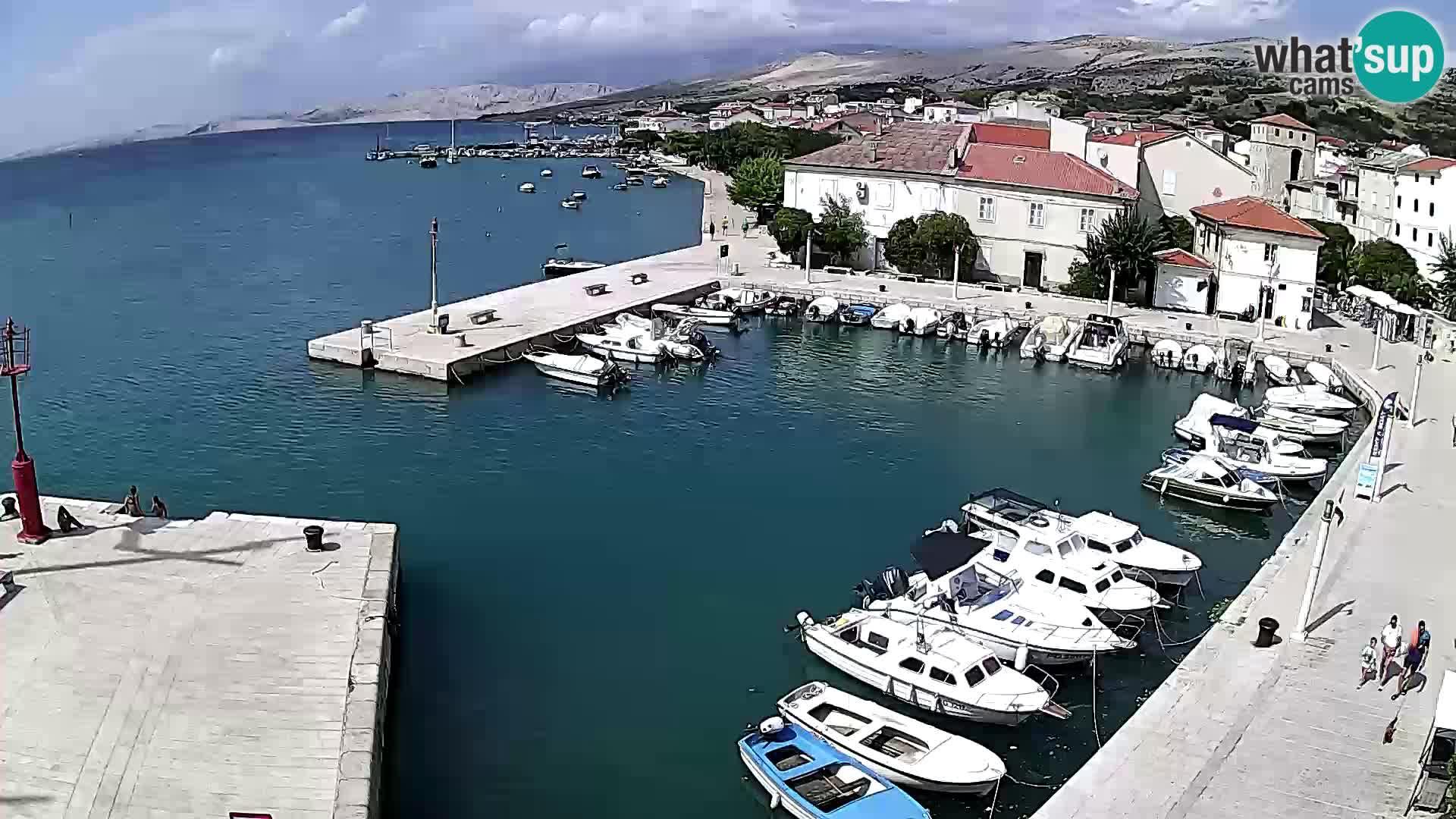 Pag web kamera – gradska marina