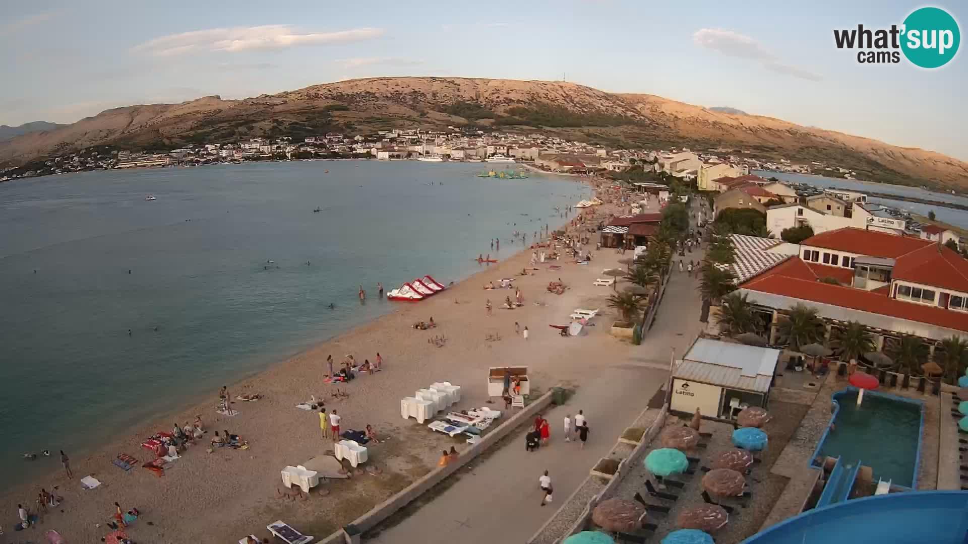 Webcam Pag beach