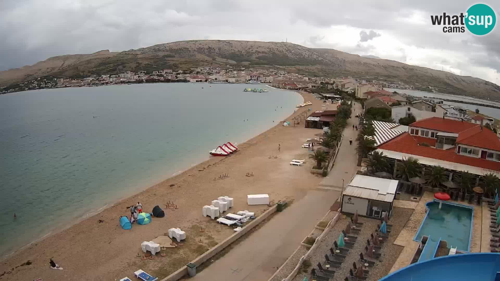 Camera en vivo Pag – Playa
