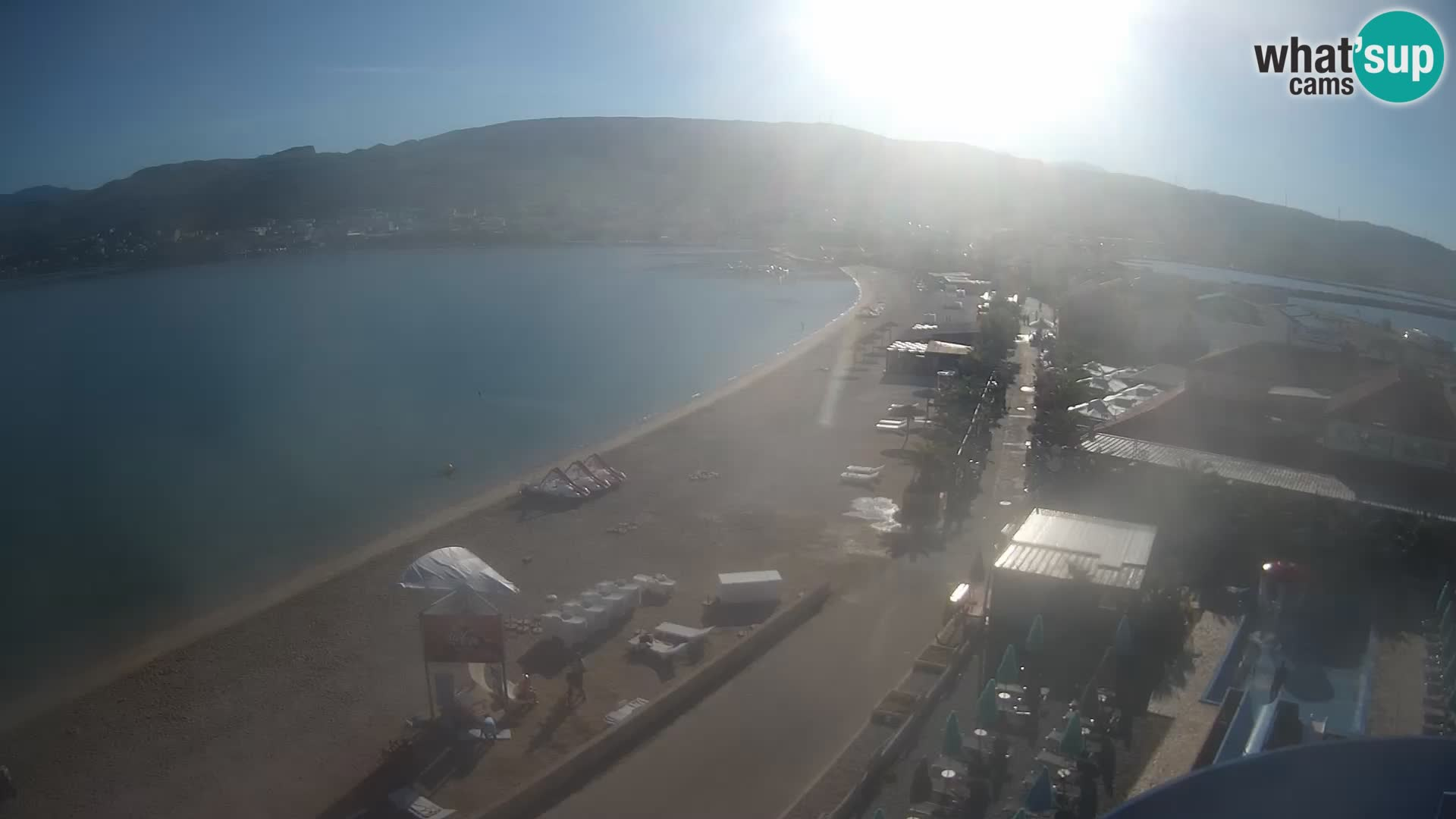 Kamera v živo Pag – Plaža