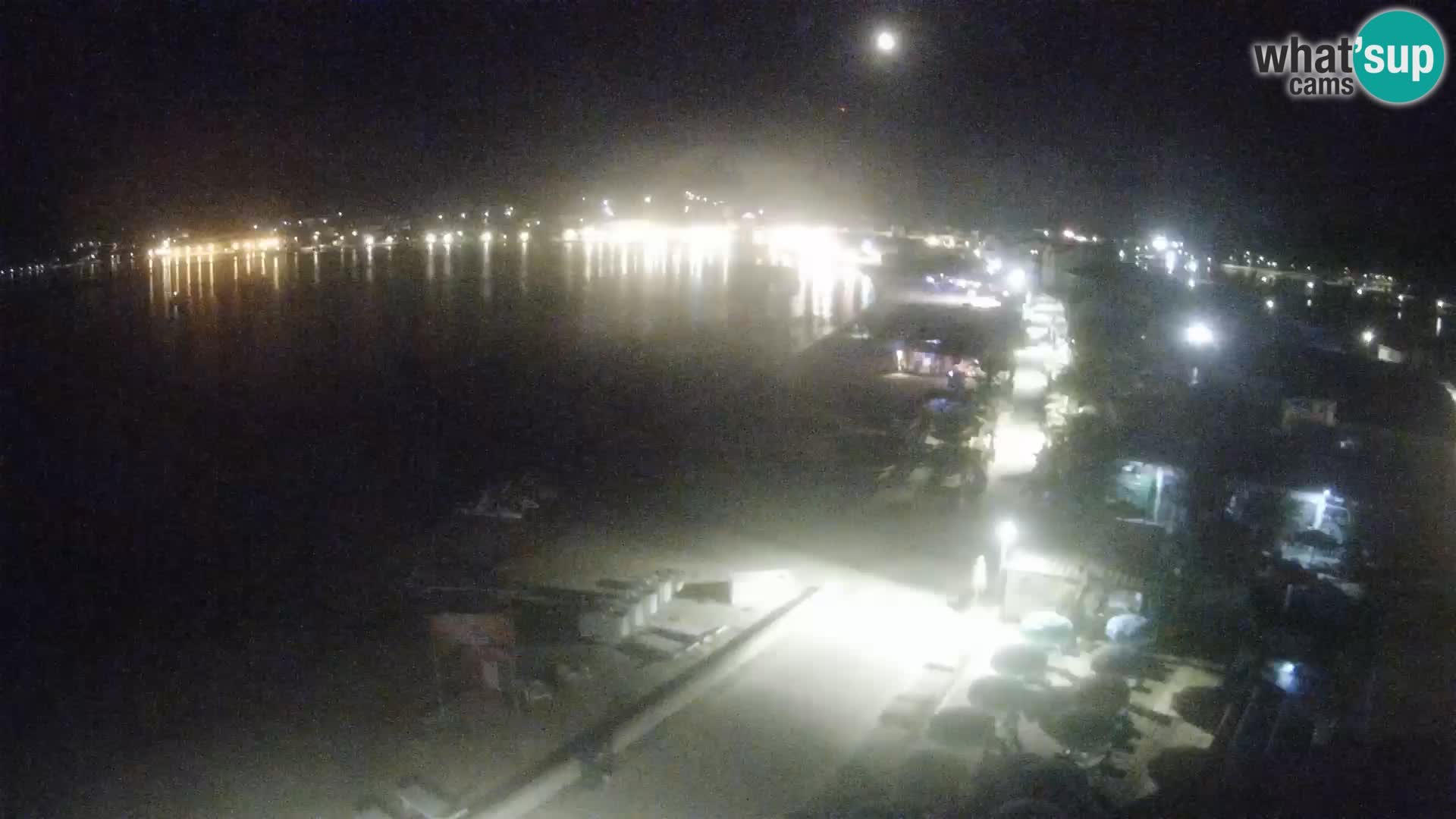 Web kamera Pag – Plaža