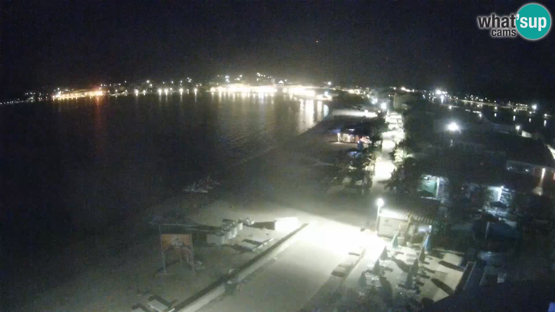 Pag webcam – Plage