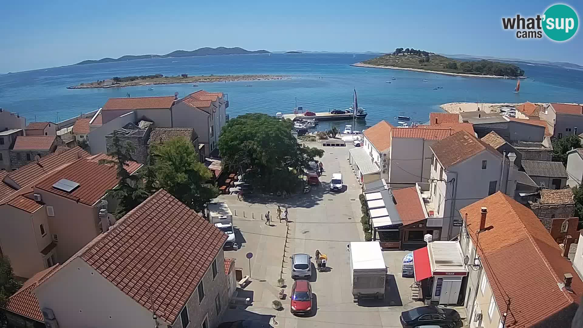 Spletna Kamera Pakoštane – panorama