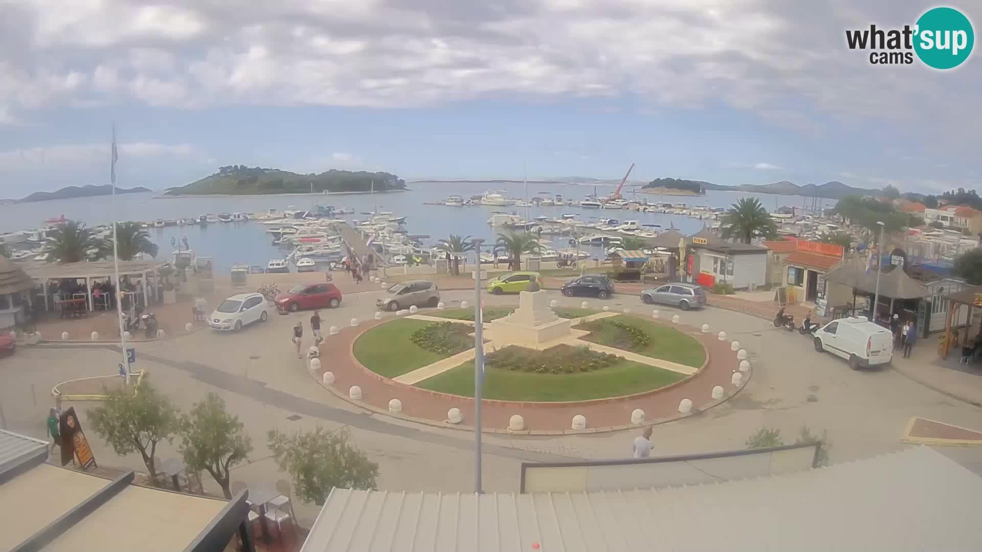Pakoštane – Blick von der Villa Ljubica
