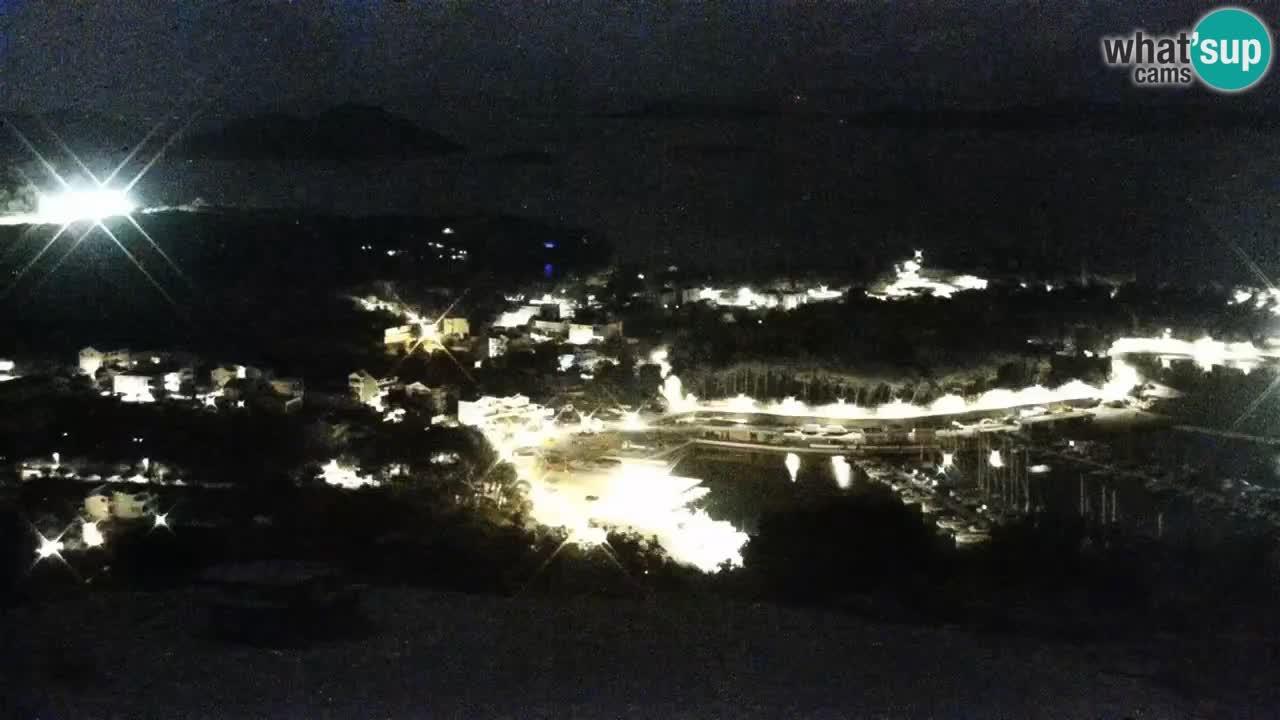 Spletna kamera Pakoštane – Drage – Kornati – Vransko Jezero