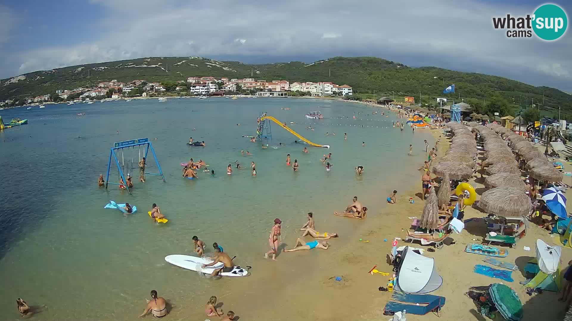 Web kamera – Plaža Planjka – otok Pag