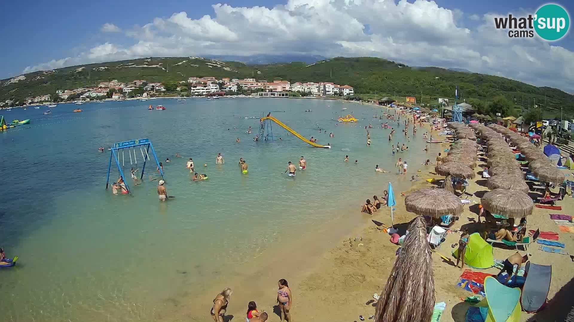 Webcam Pag – Plage Planjka