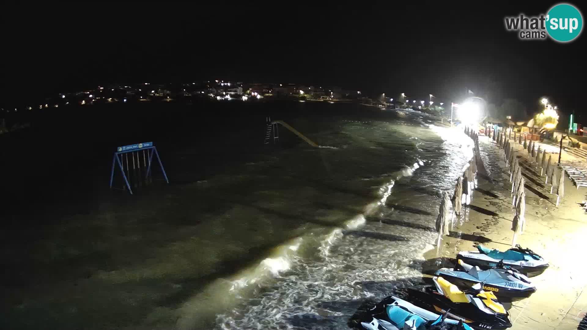 Webcam live – Strand Planjka – Pag
