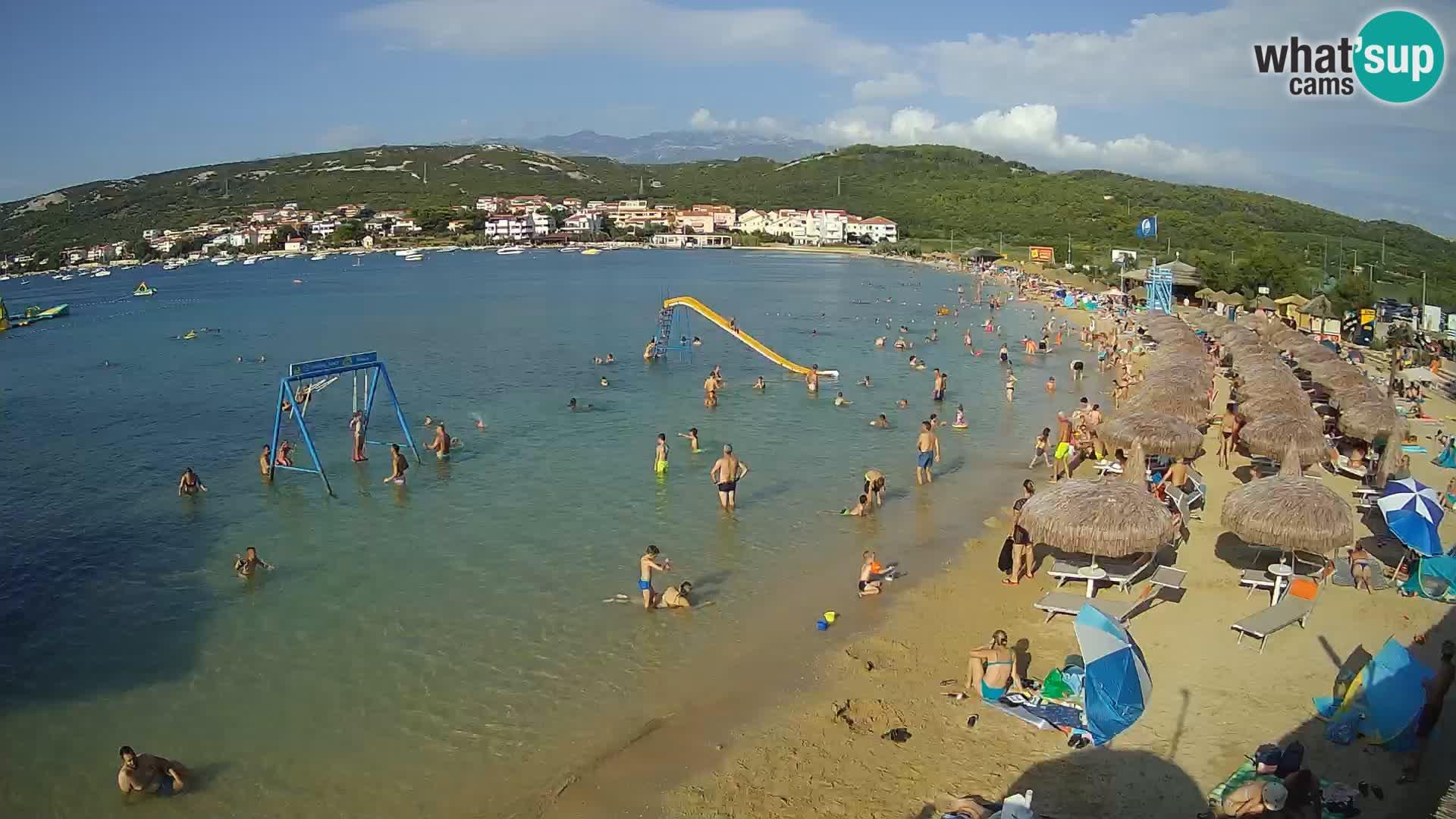 Webcam live – Planjka beach – Pag Island