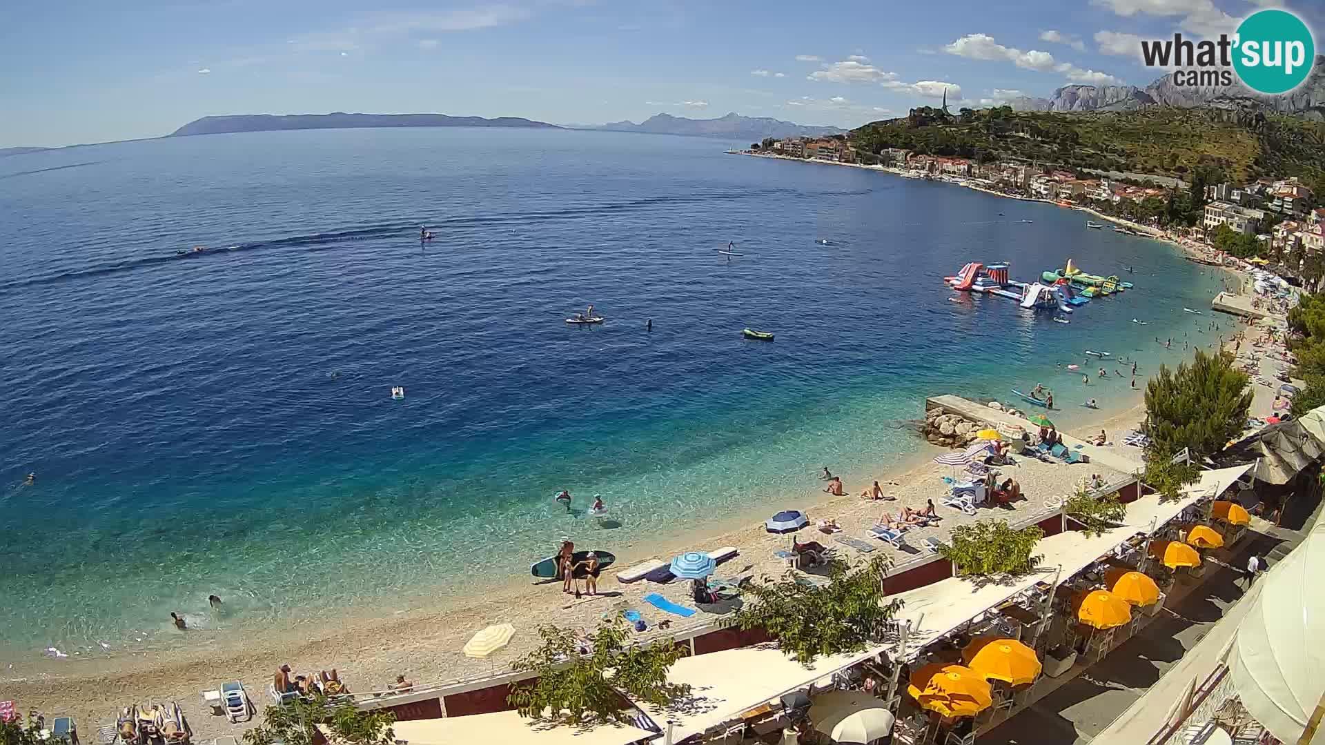 Podgora – panorama beach