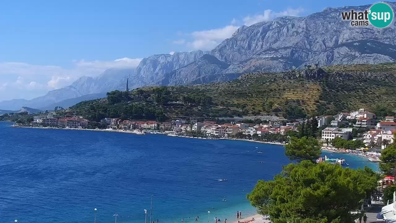 Plaža v Podgori