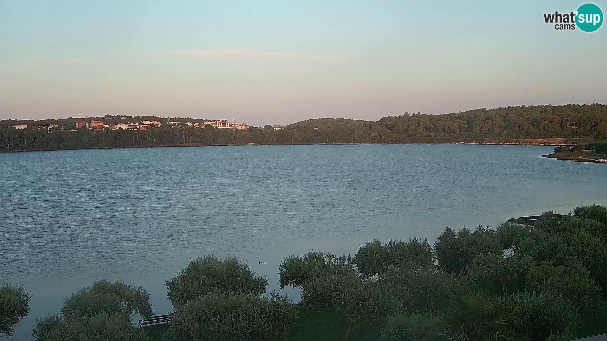 Webcam en direct Pomer – Šćuza – Medulin – Istrie – Croatie