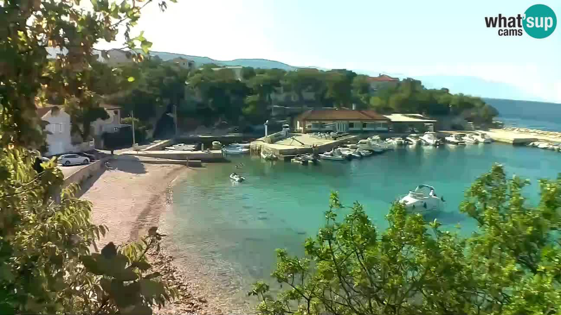 Spletna kamera Povile – Plaža (Novi Vinodolski)