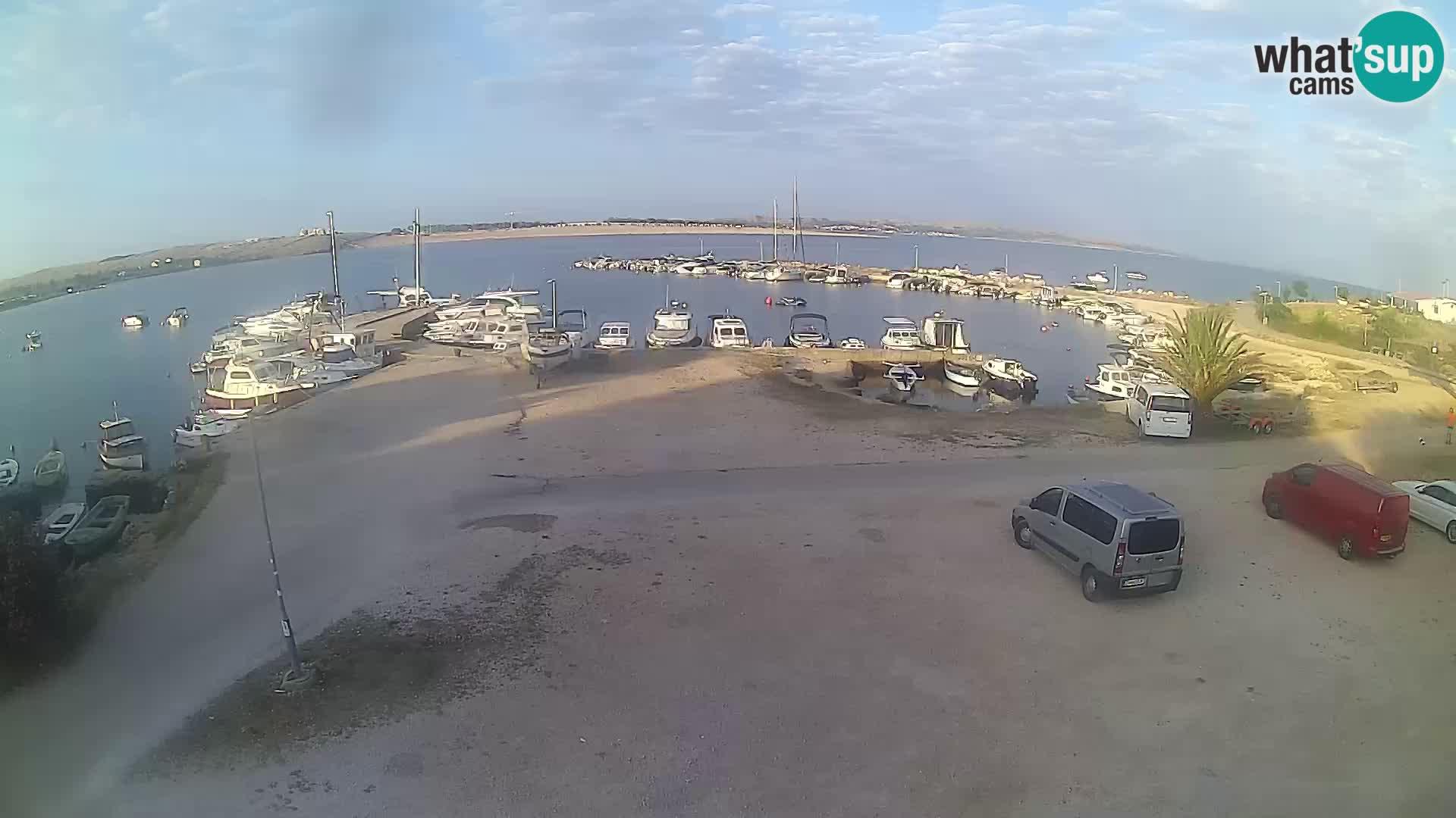 Web kamera Povljana – otok Pag