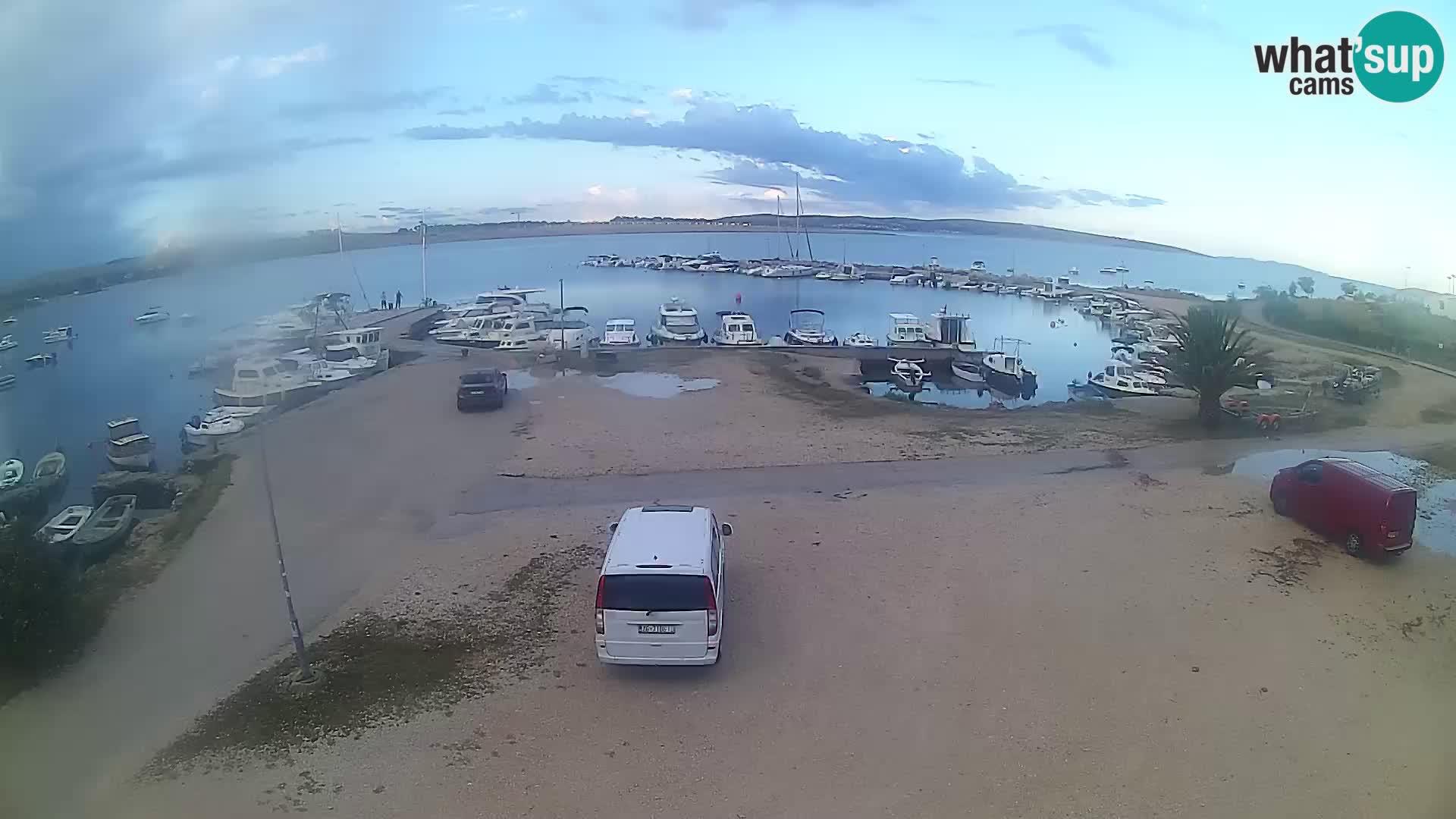 Livecam Pogliana – isola di Pago