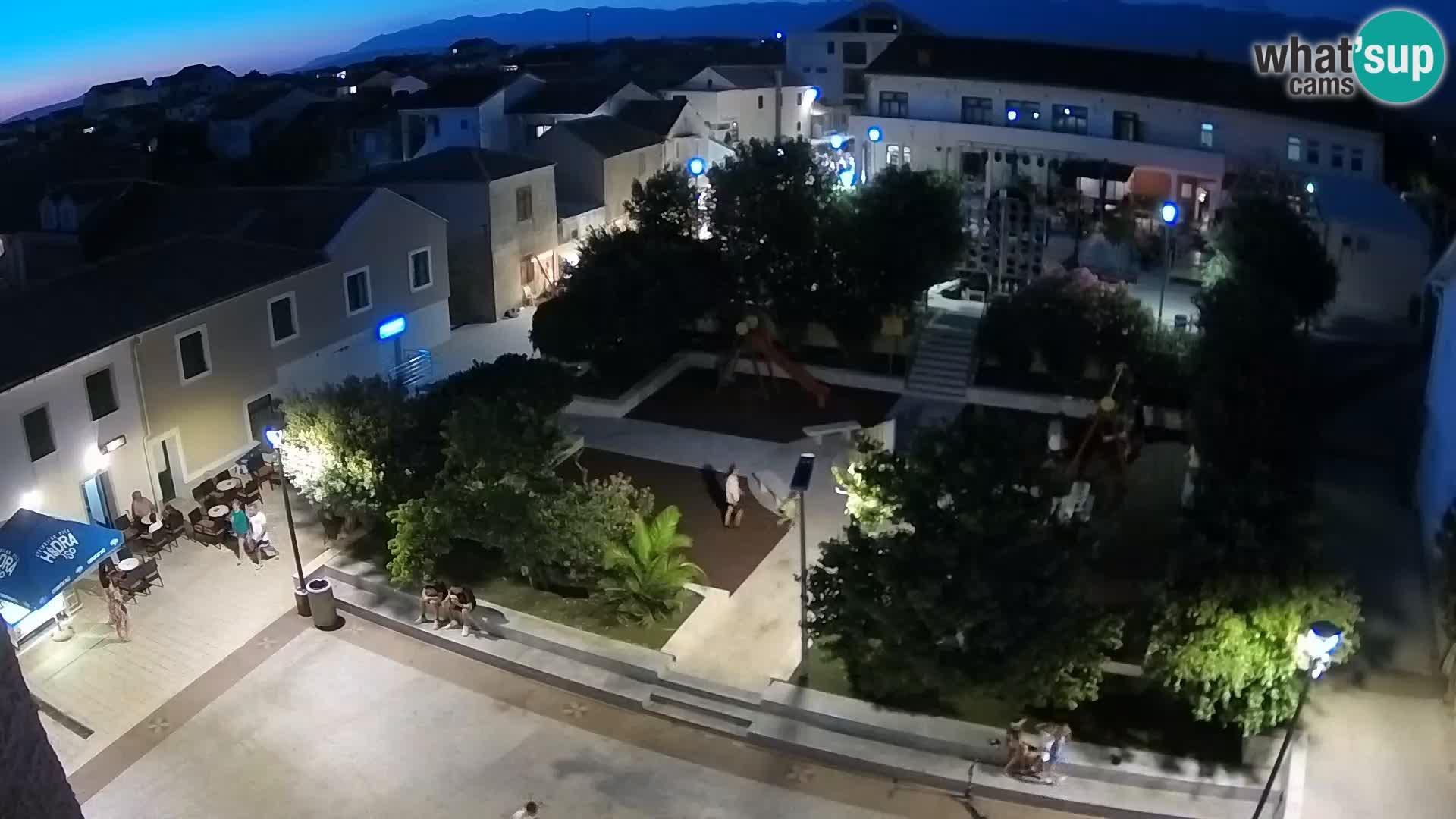 Povljana webcam – Pag insel