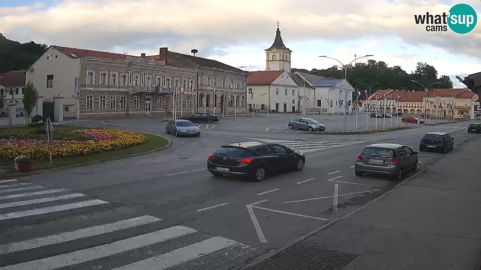 Webcam Požega – Svetog Trojstva square