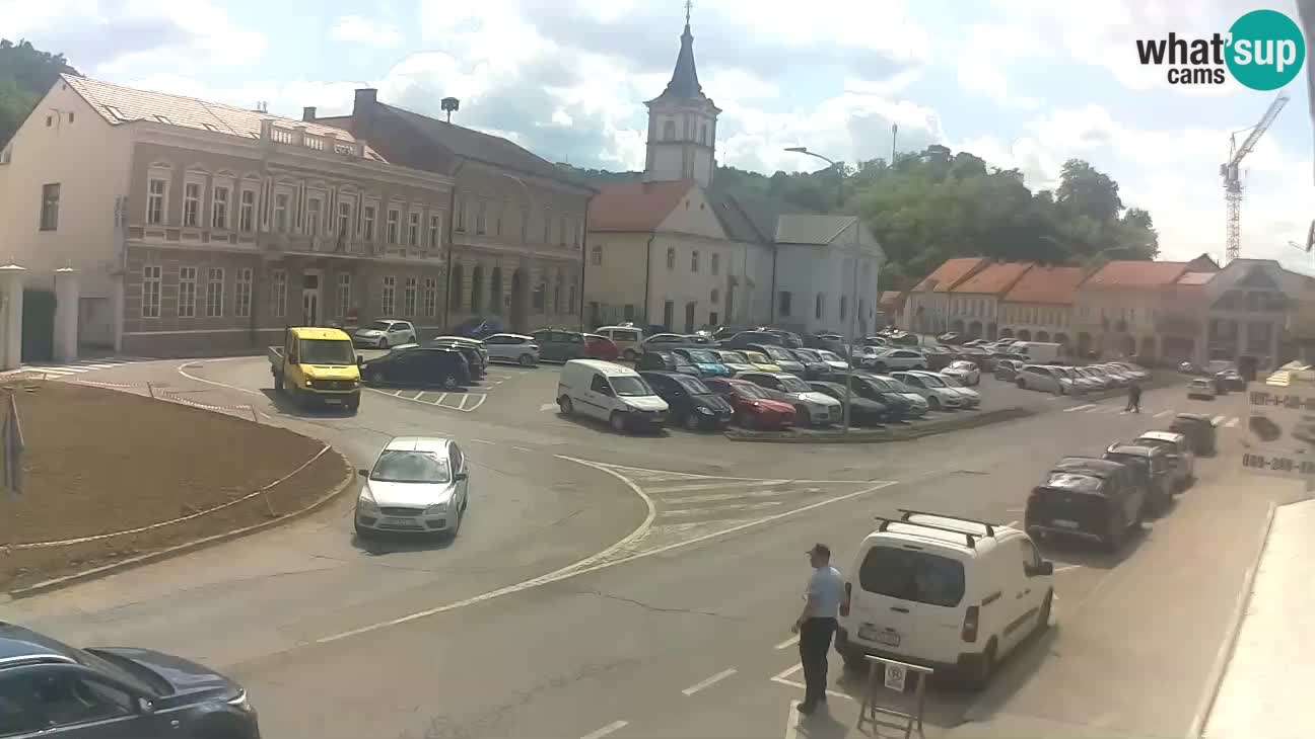 Webcam Požega – place Svetog Trojstva