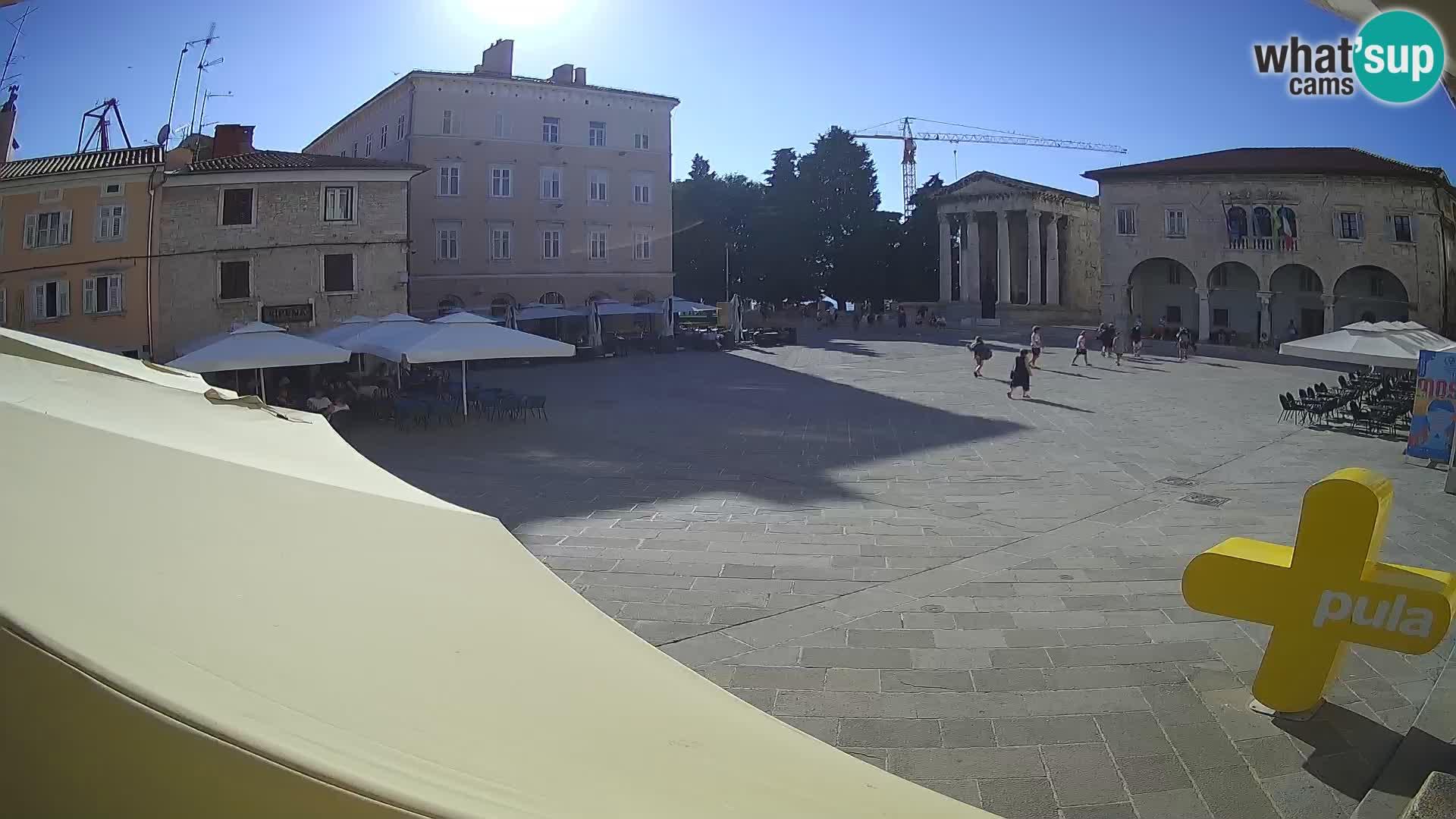 Pula – Forum i Augustov hram