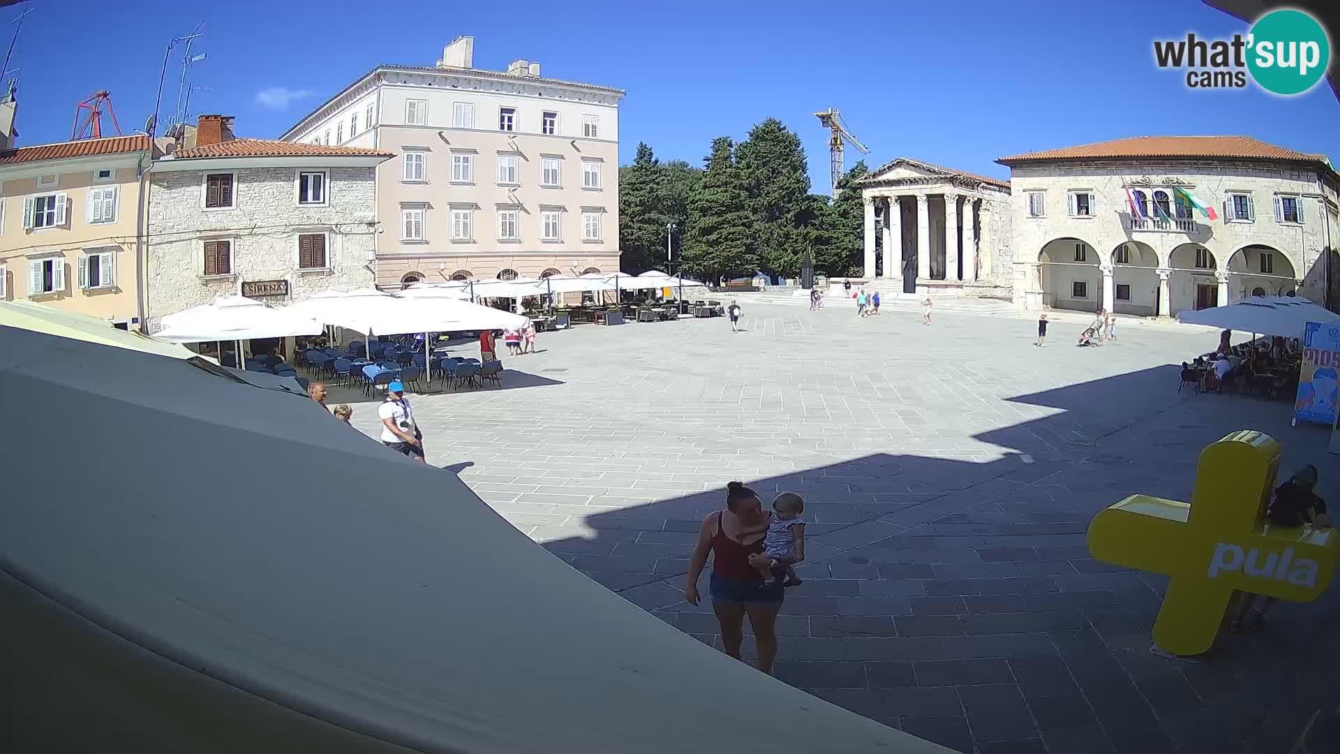 Pula – Forum et Tempio di Augusto