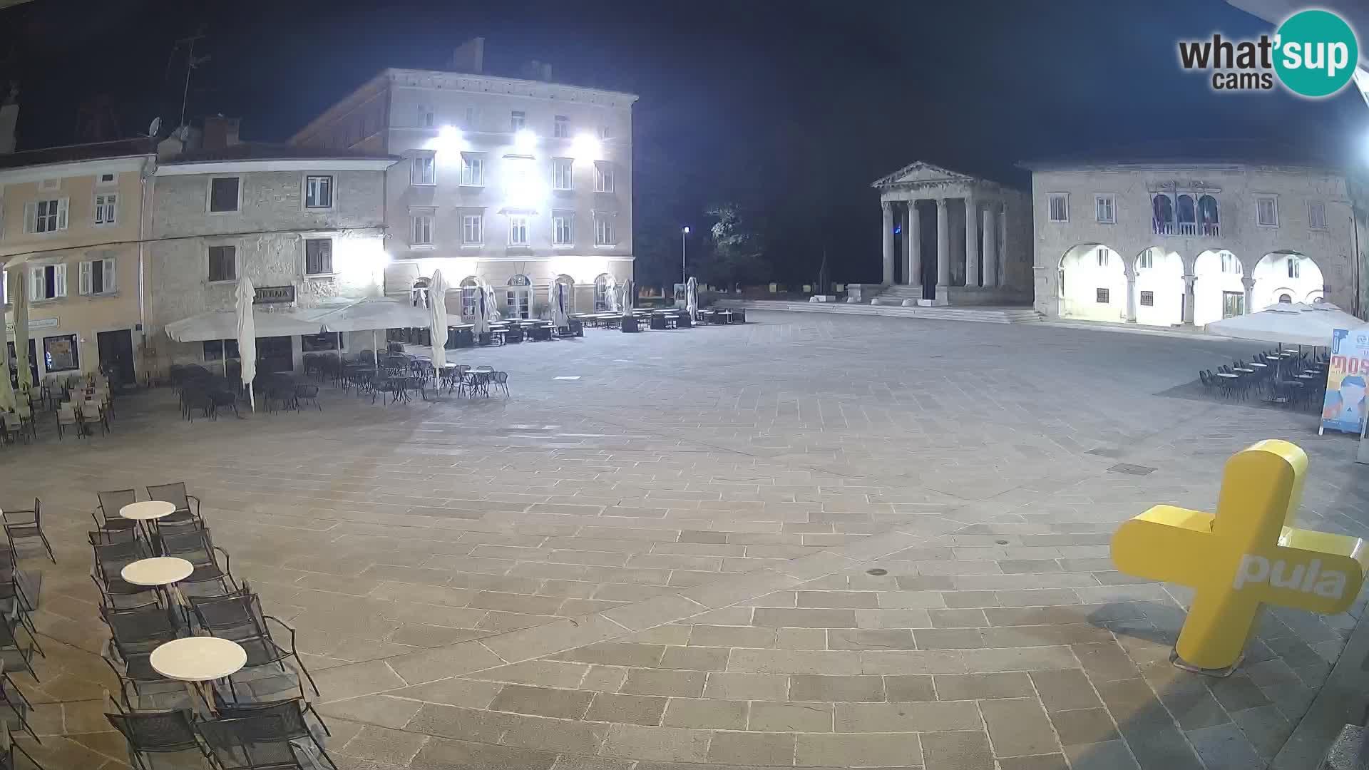 Pula – Forum el Tempio di Augusto