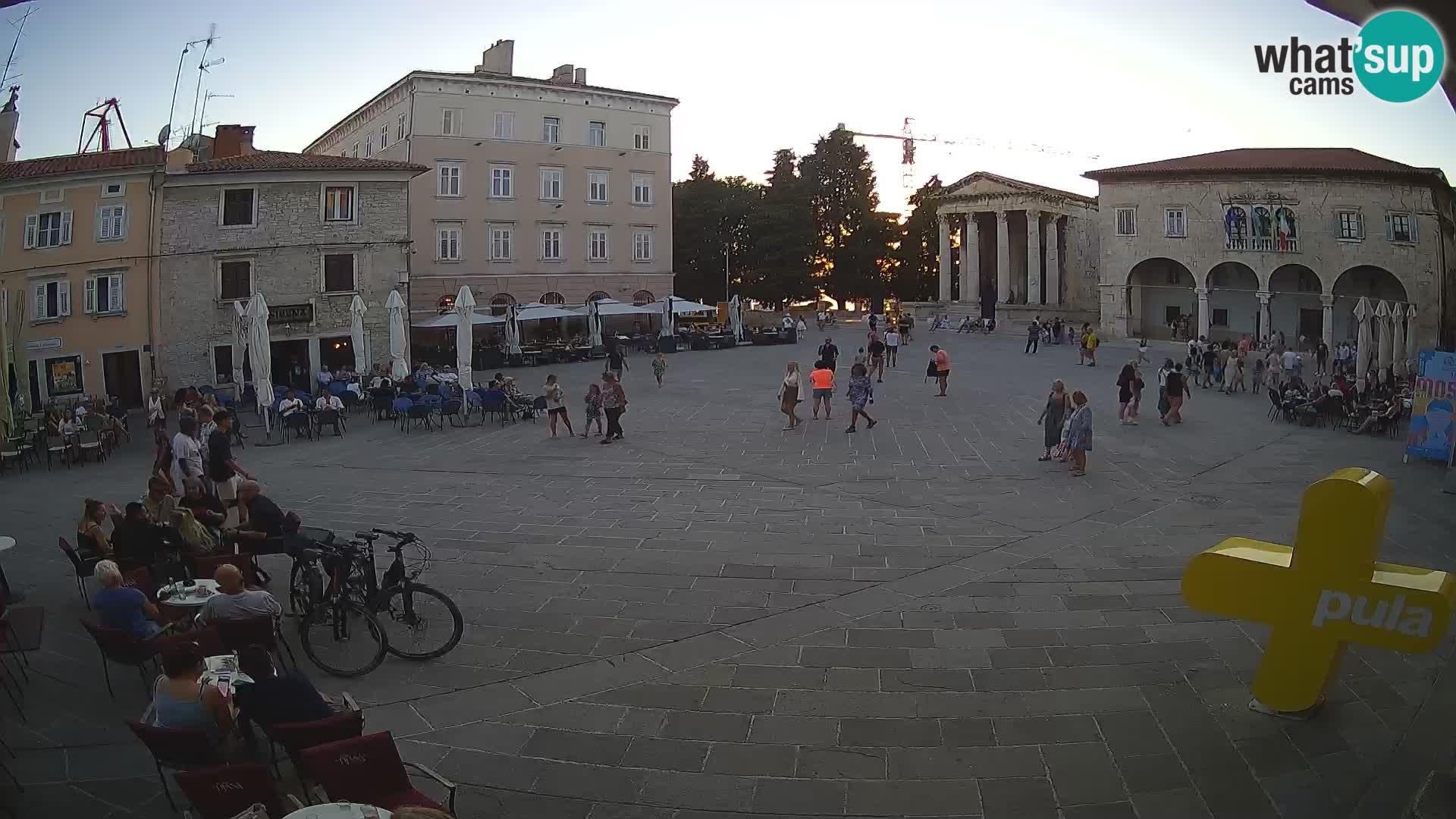 Pula – Forum in Avgustov tempelj